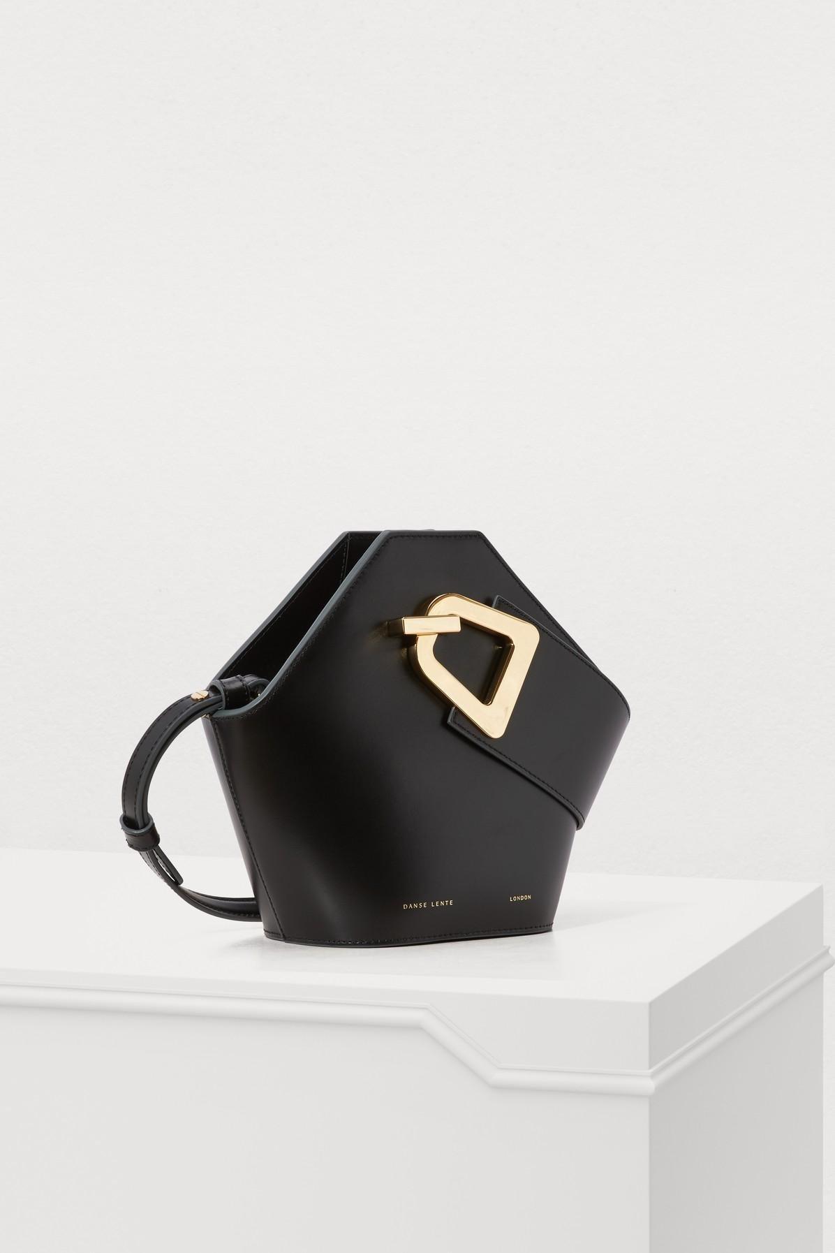 25460c15eae8 Danse Lente - Mini Johnny Bucket Bag In Black Leather - Lyst. View  fullscreen