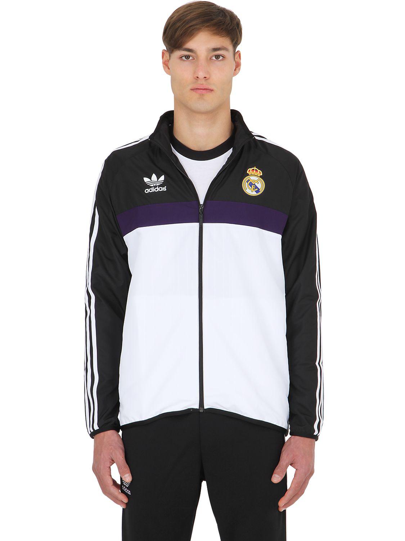 adidas Originals Real Madrid Windbreaker Black