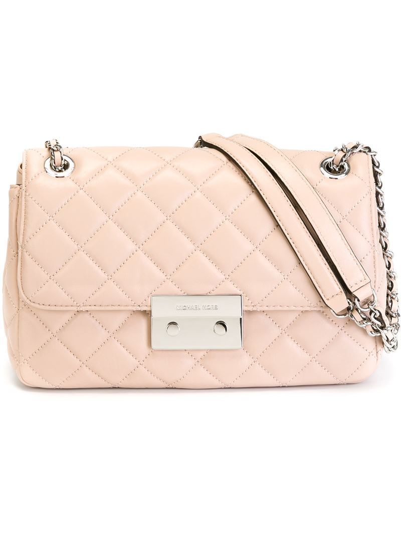 68f6c2577f34 Lyst - MICHAEL Michael Kors Large  sloan  Shoulder Bag in Pink