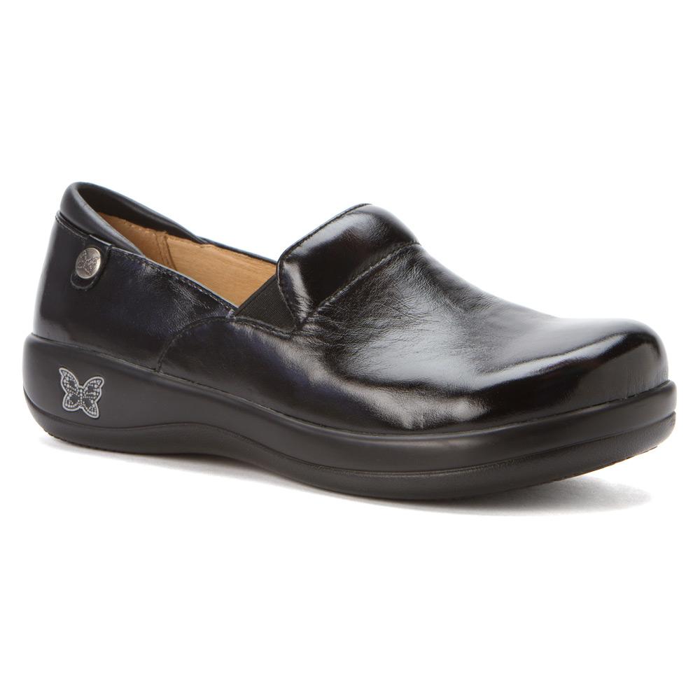 Black And White Alegria Shoes