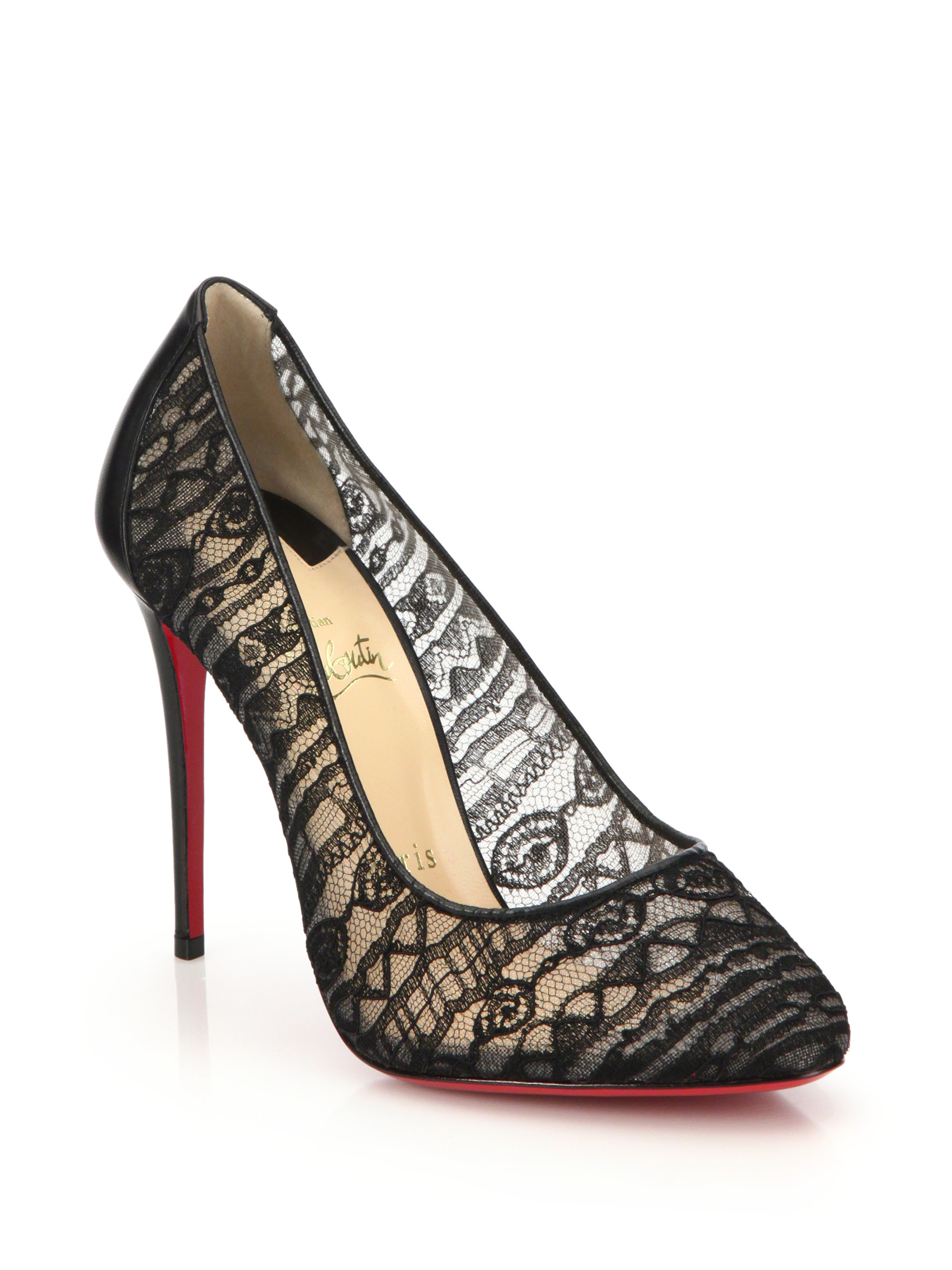 christian louboutin semi pointed-toe Dorissima pumps | The Little ...