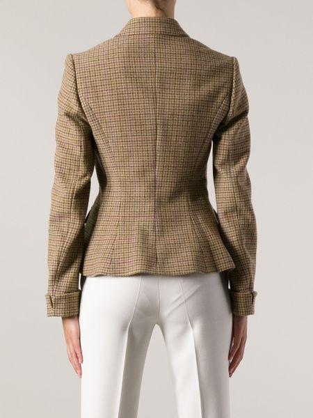 Ralph lauren Faux-suede Full-zip Jacket in Brown | Lyst