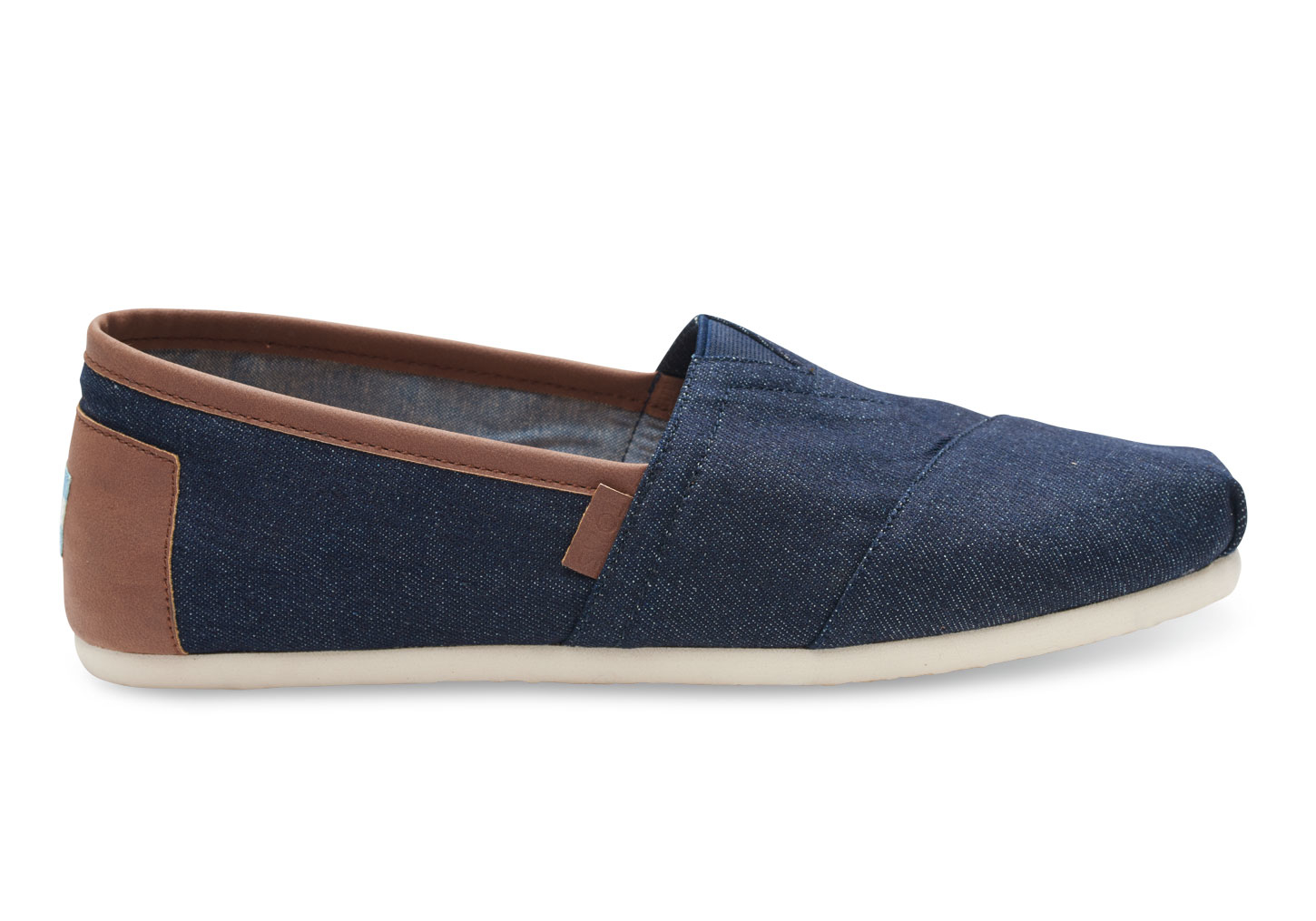 Dark Blue Jeans Brown Shoes