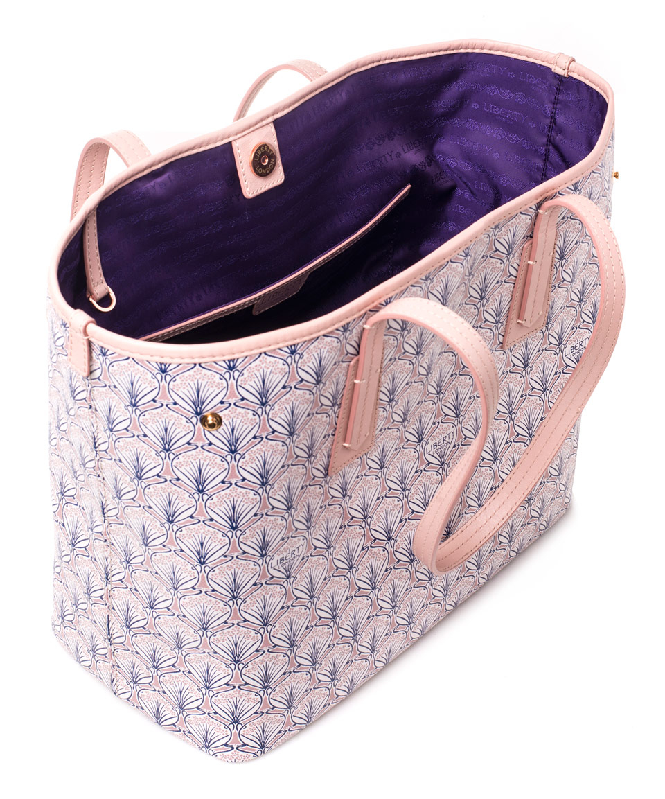 Liberty Blush Little Marlborough Small Tote Bag in Pink