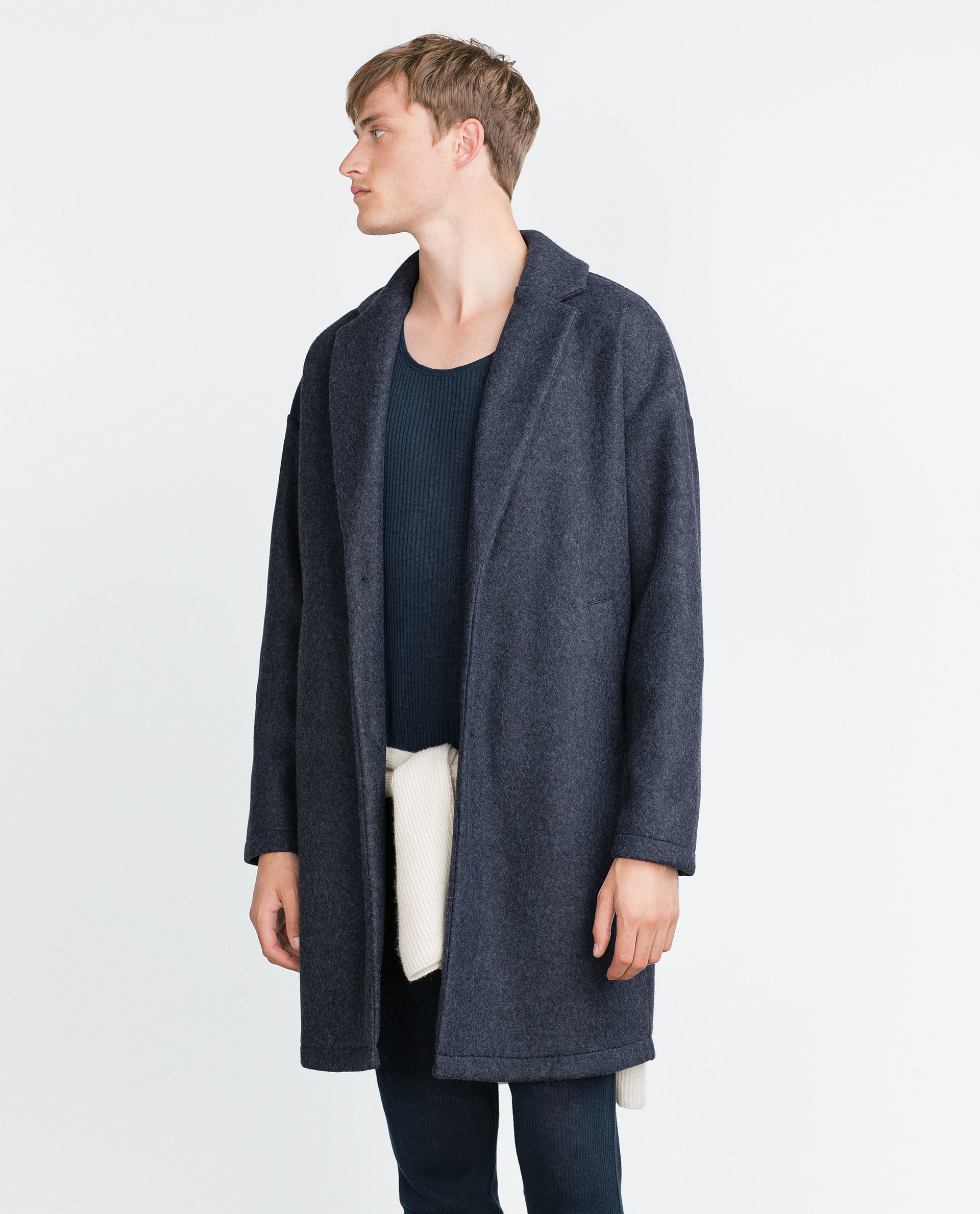 Rent Powder Blue Oversized Boucle Coat by English Factory for $30 only at Rent the Runway.9/
