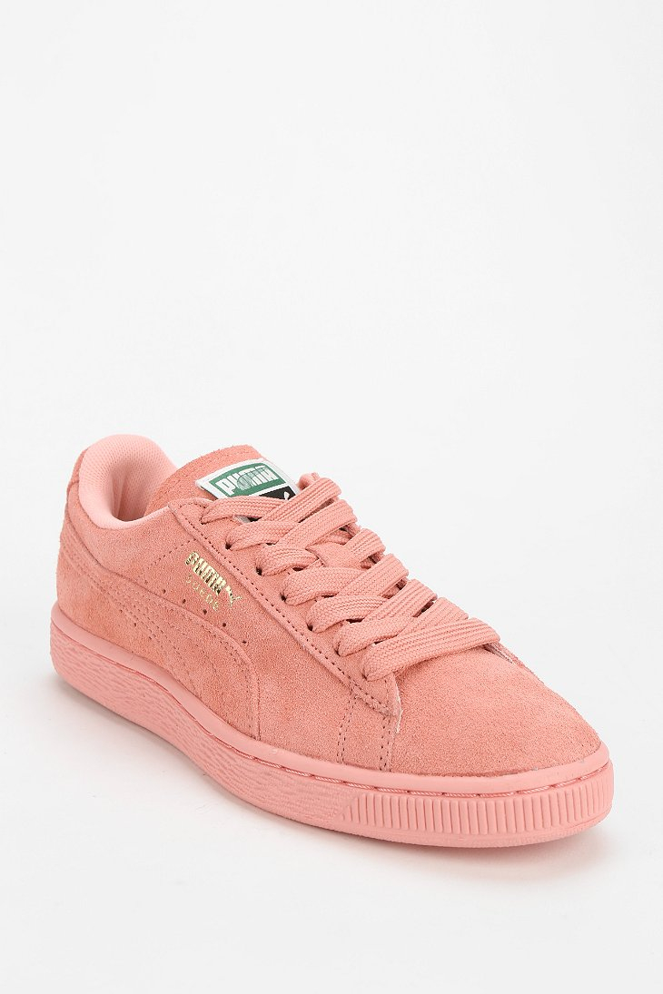 puma tonal pastel sneaker in pink lyst. Black Bedroom Furniture Sets. Home Design Ideas