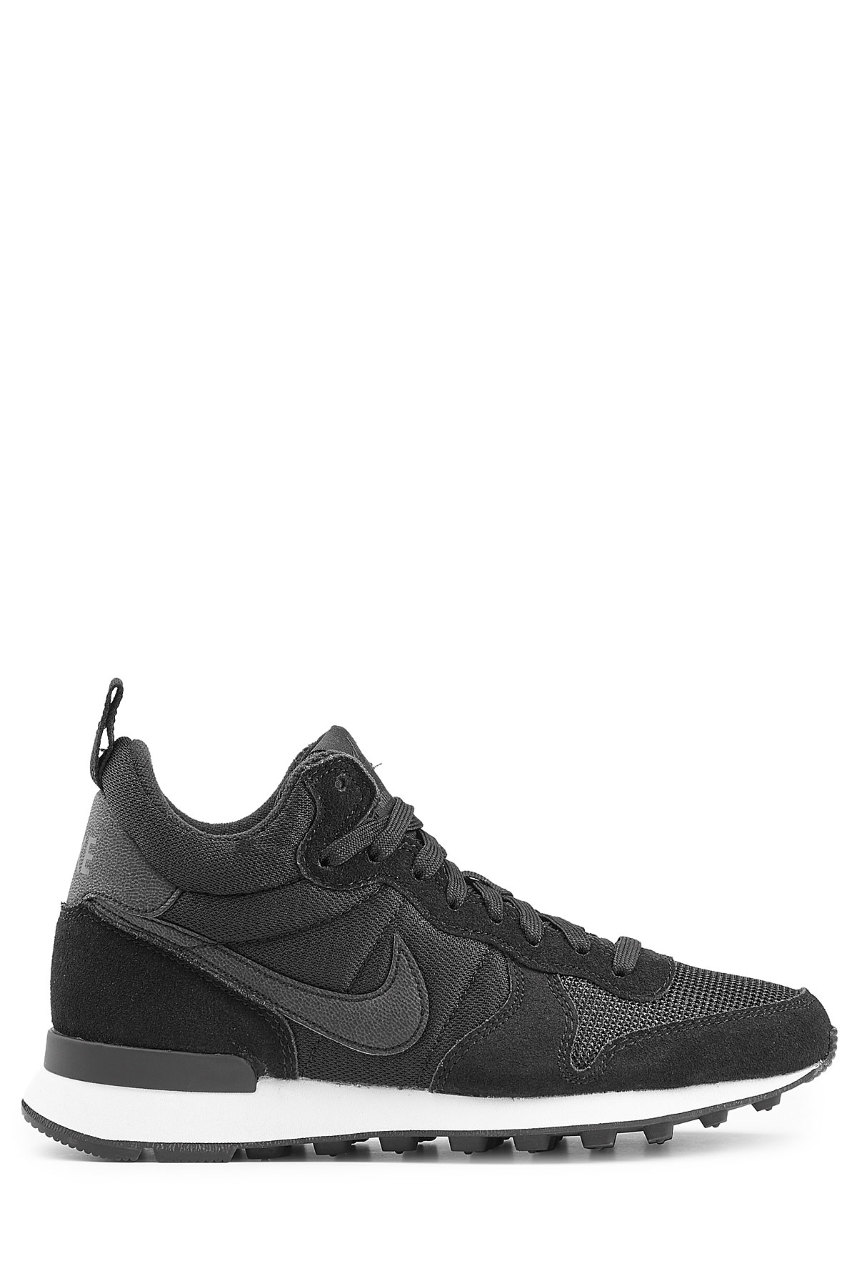 nike internationalist mid sneakers with leather black in. Black Bedroom Furniture Sets. Home Design Ideas