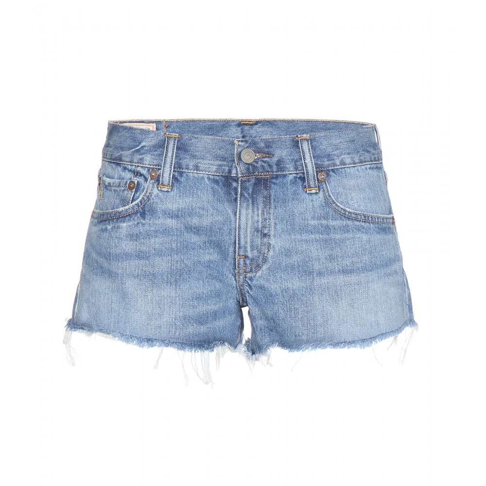 Polo Ralph Lauren Crosby Denim Shorts in Blue - Lyst