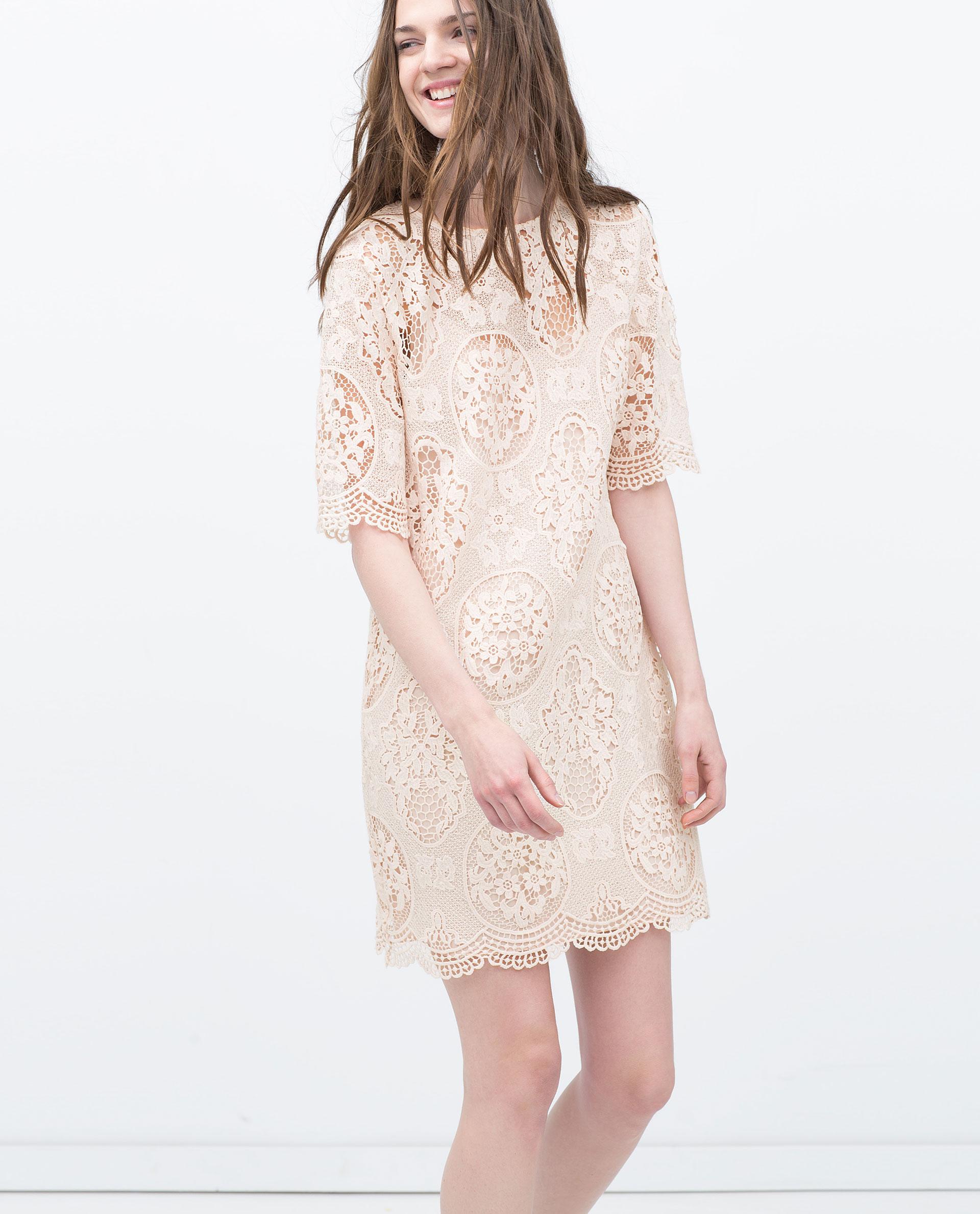 Galerry lace dress zara 2015
