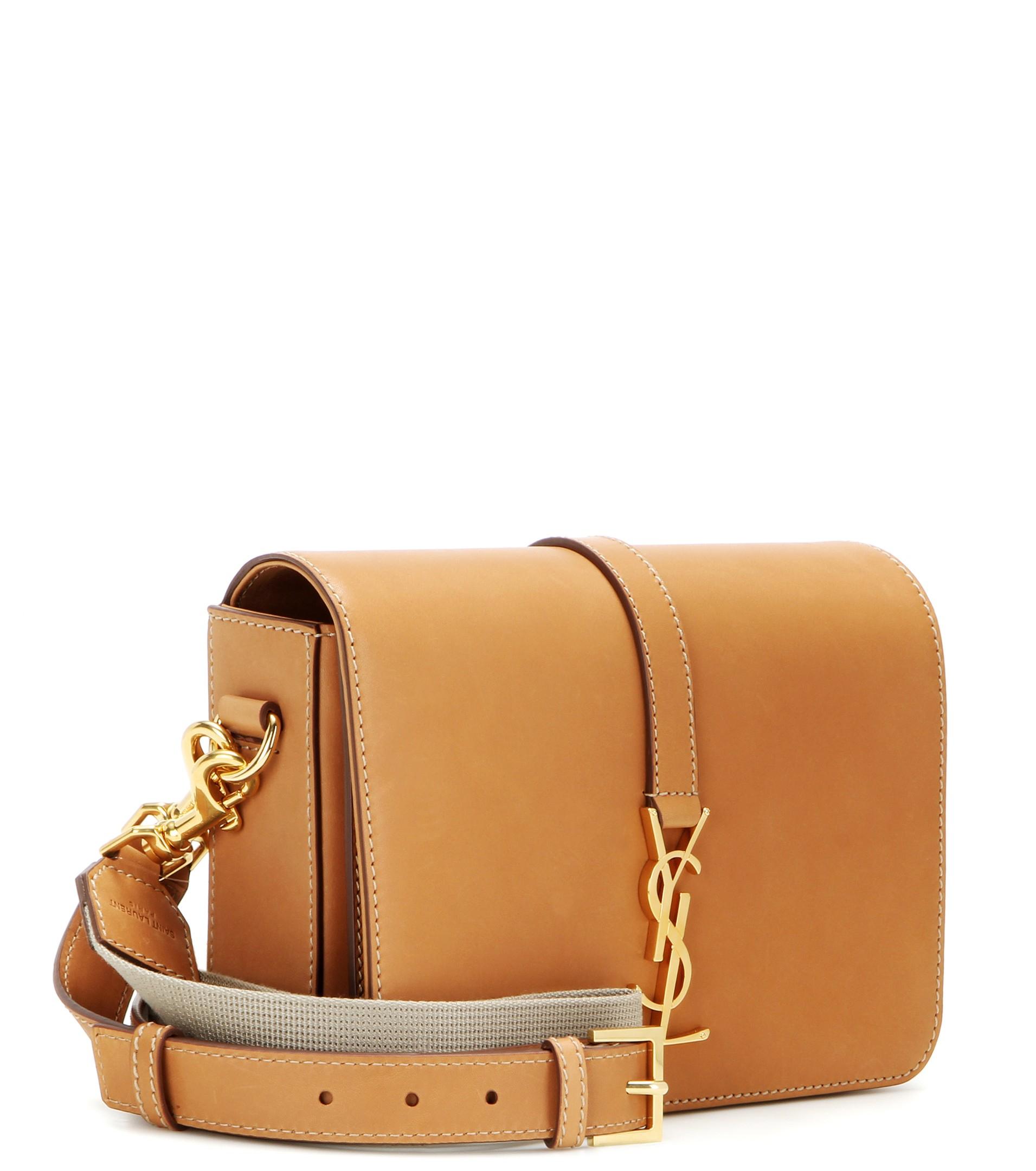 94a7c7e452 Lyst - Saint Laurent Monogram Université Medium Leather Shoulder Bag ...