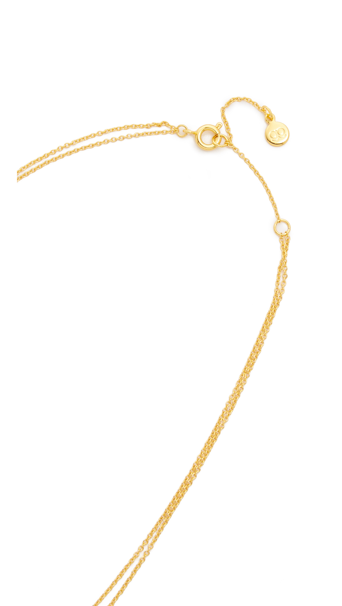 Gorjana Chloe Mini Layer Necklace in Gold (Metallic)