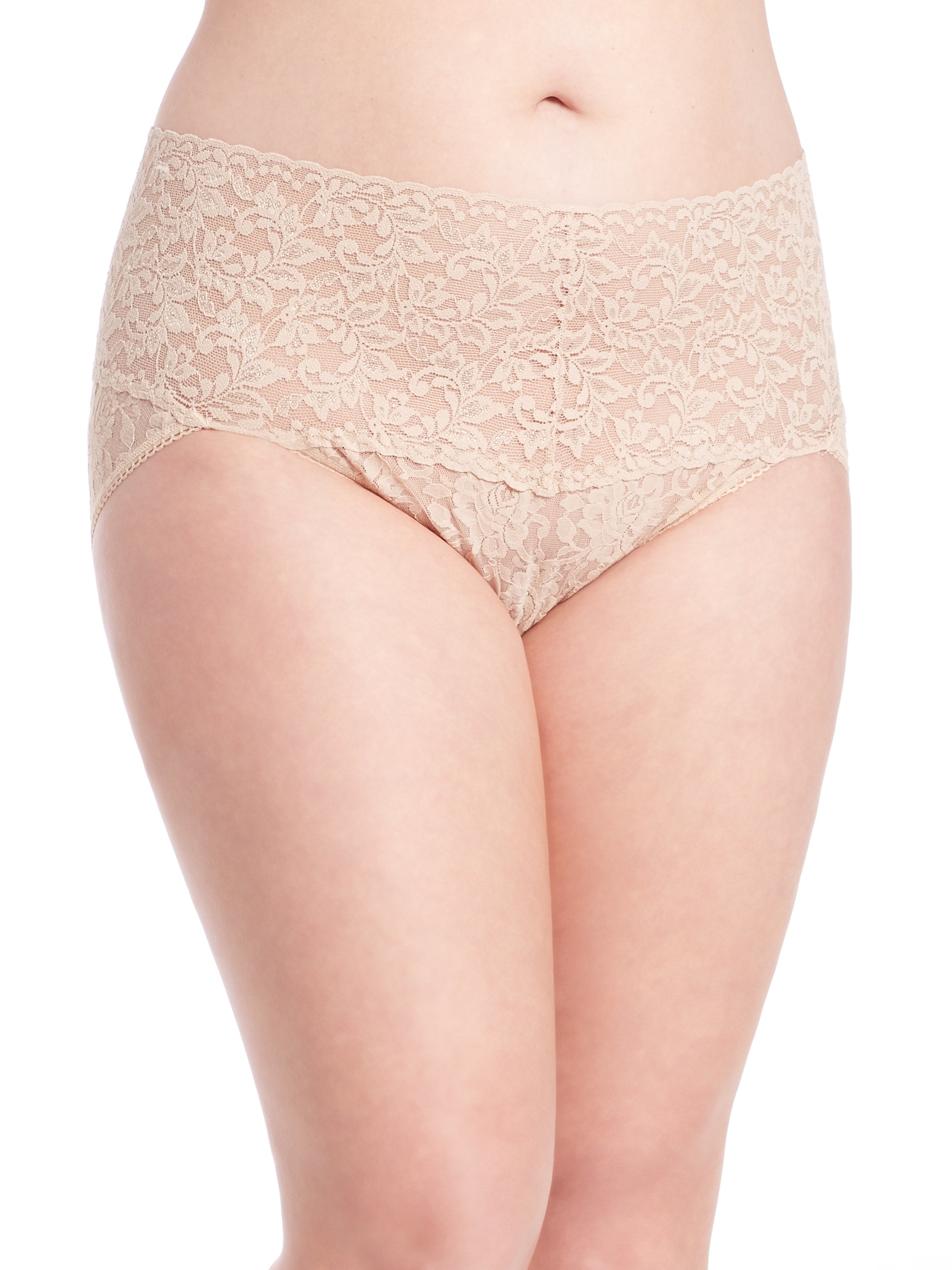 Sears plus beige panties