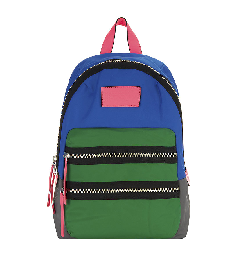 marc by marc jacobs loco domo backpack in multicolor lyst. Black Bedroom Furniture Sets. Home Design Ideas