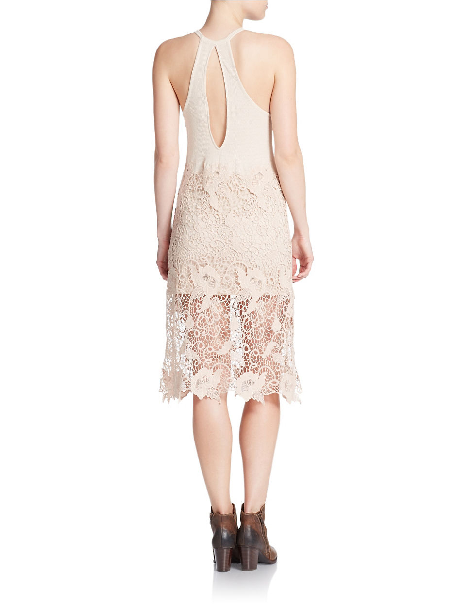 Nora Lace Tank Dress