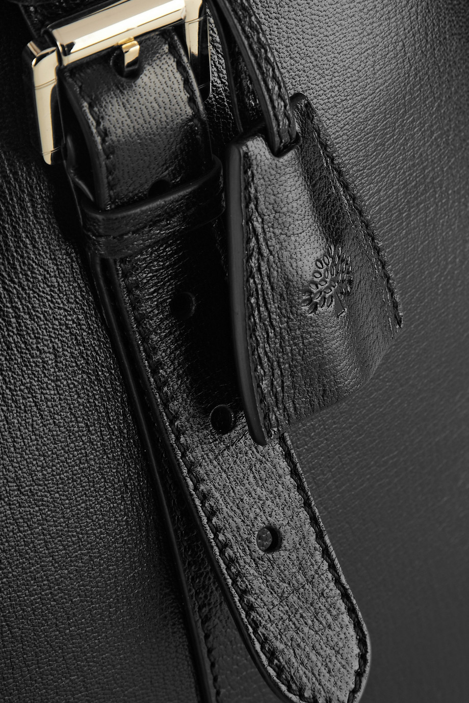 Lyst mulberry the bayswater double zip textured leather for The bayswater