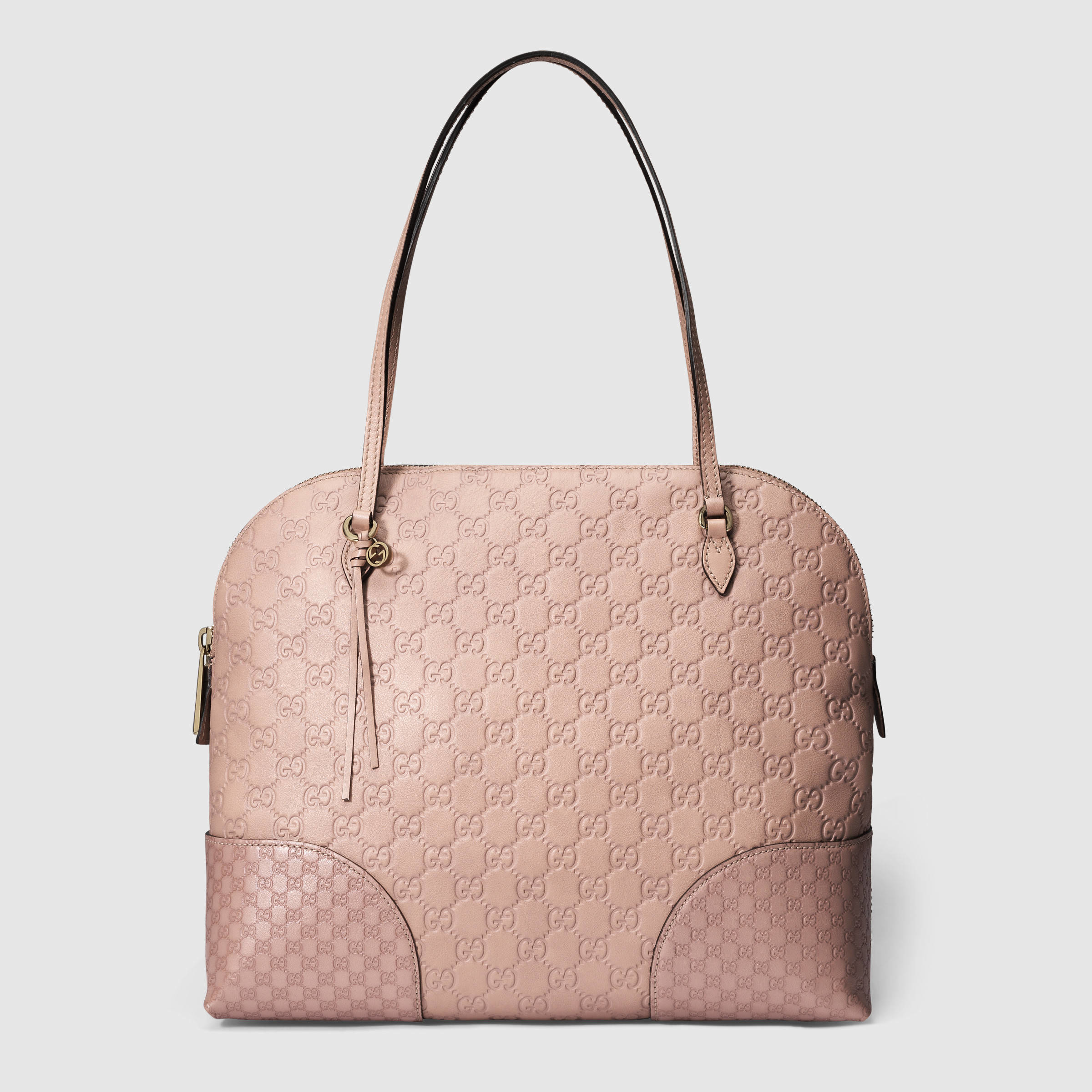 2eac33bbba3b Gucci Pink Bree Guccissima Shoulder Bag