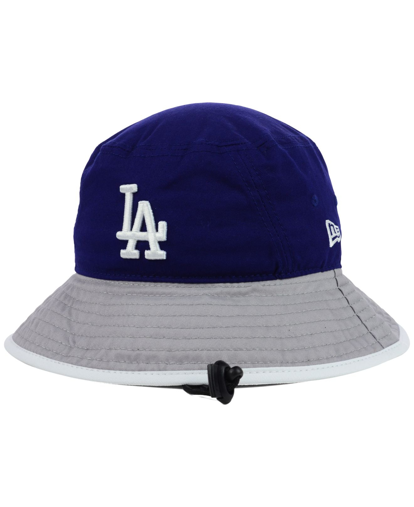 Lyst Ktz Los Angeles Dodgers Tipped Bucket Hat In Blue For Men 776aef275784