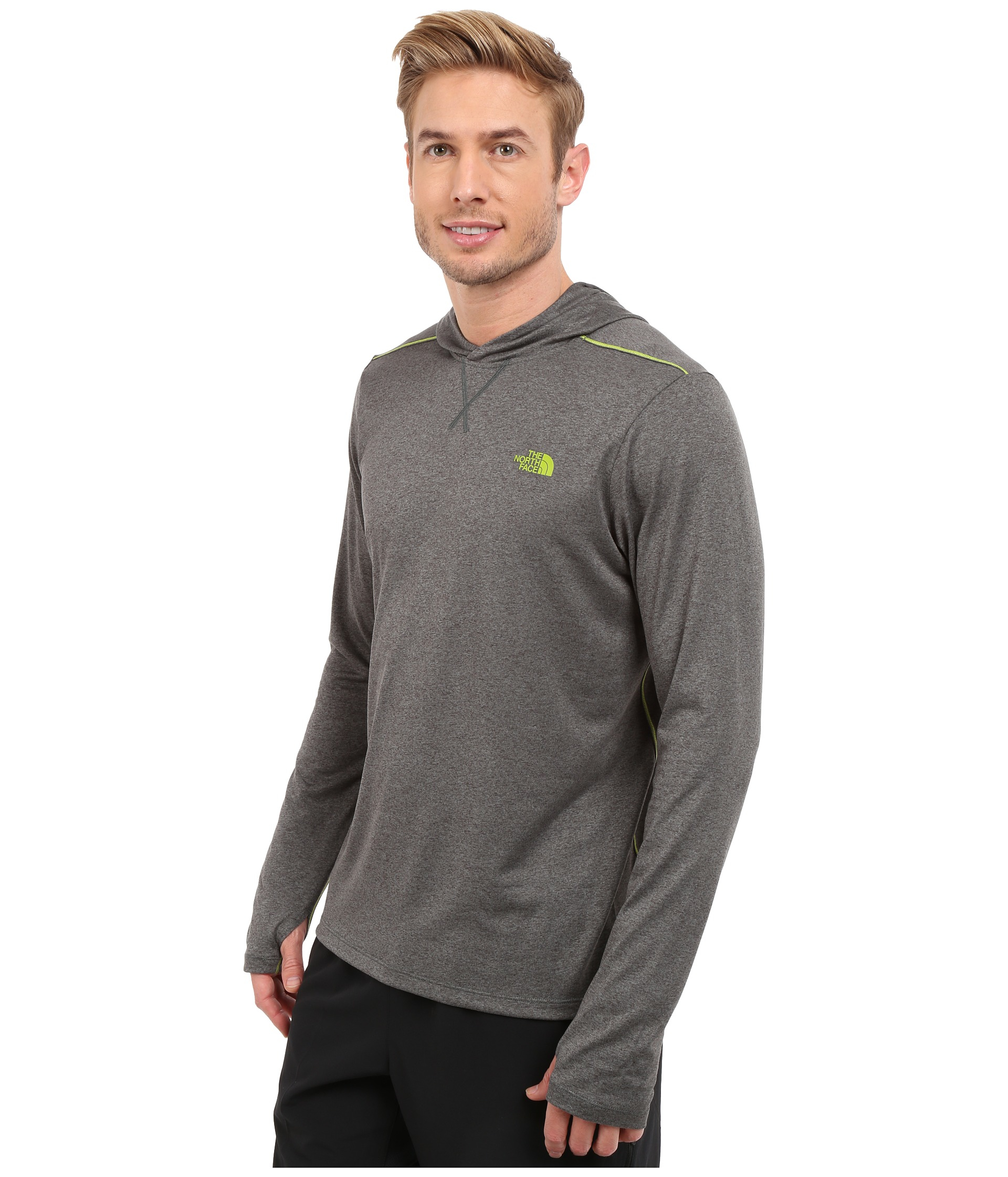 cd61c0757 The North Face Gray Reactor Hoodie for men
