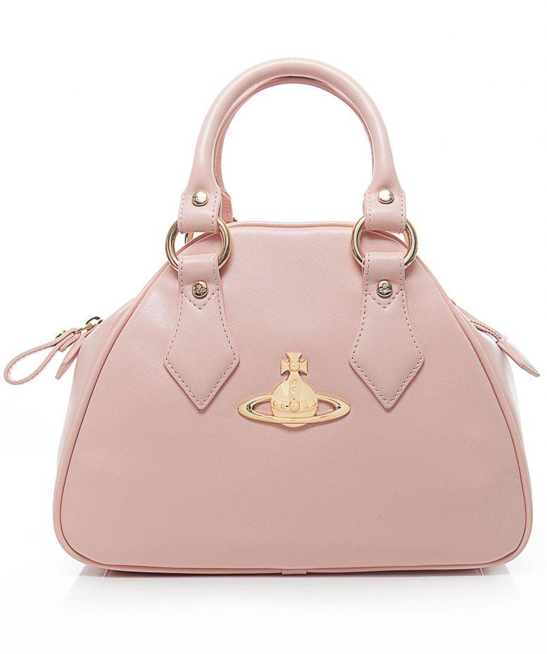 3be2be2625 Lyst - Vivienne Westwood Divina Yasmin Bag in Pink