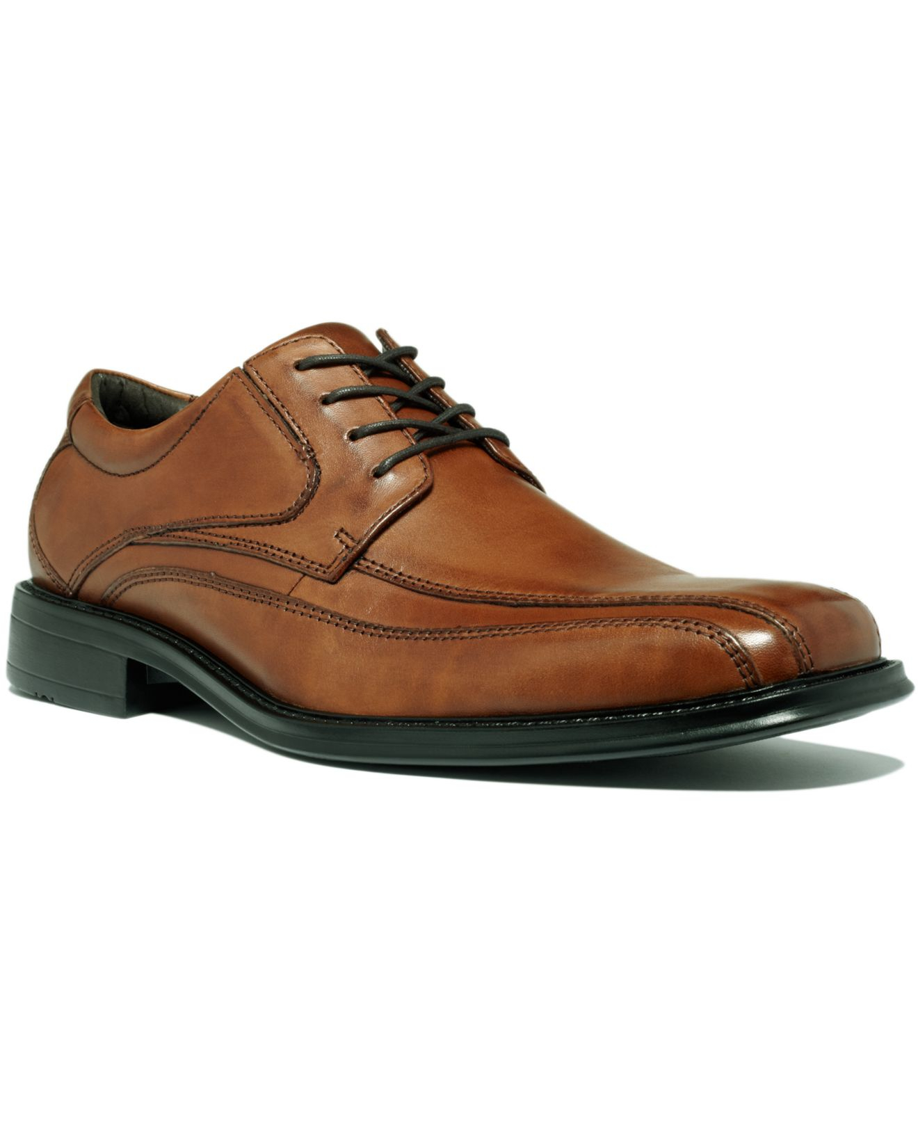 Lyst Dockers Shoes Endow Bike Toe Oxfords In Brown For Men