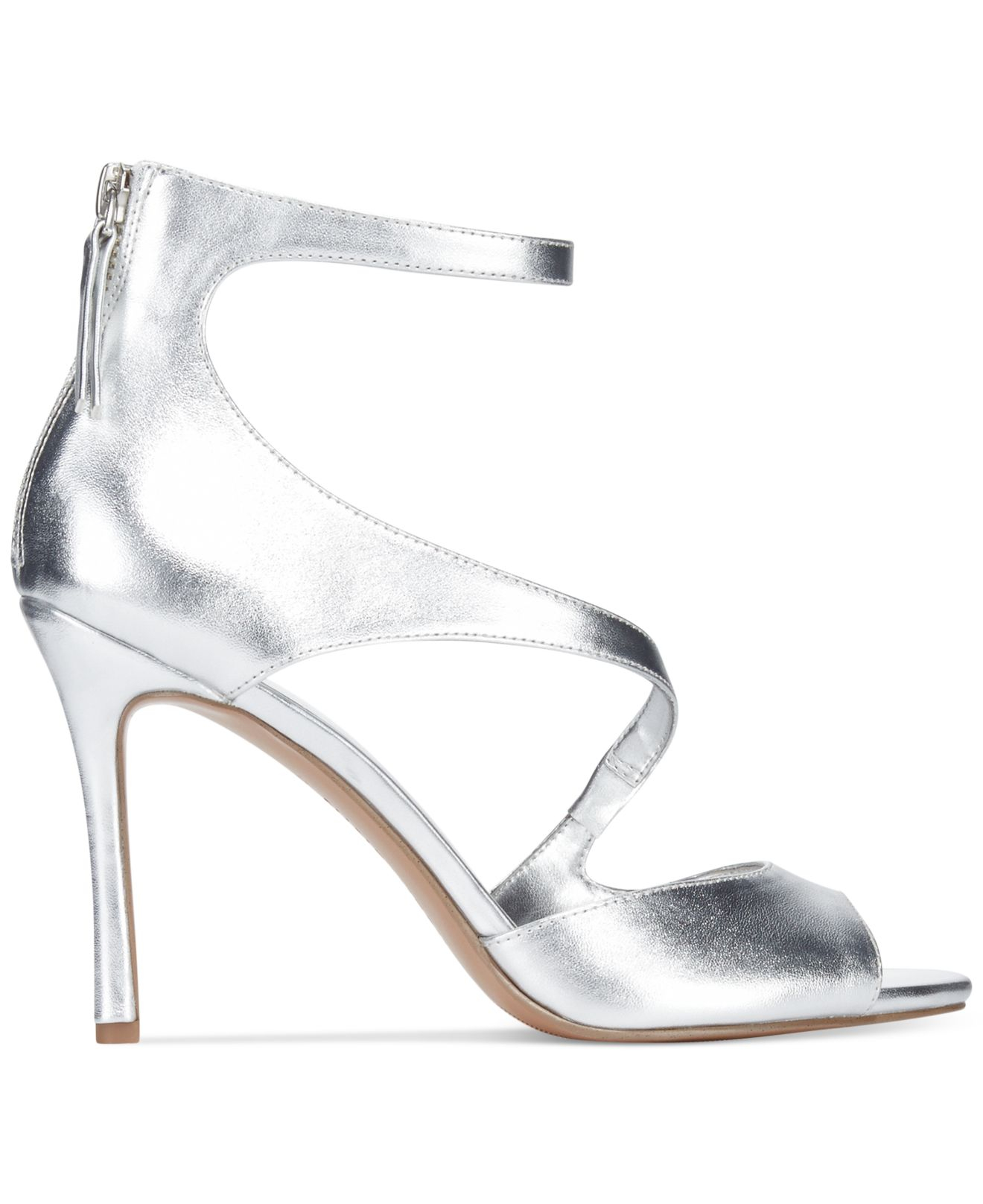 Evening High Sandals Festivitie Heel West Metallic Nine eBdorxC