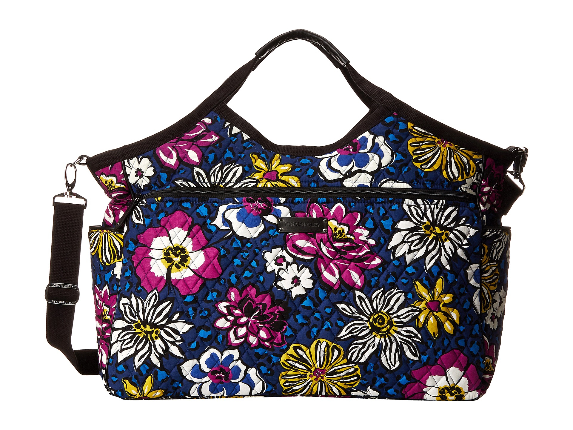 Lyst Vera Bradley Carryall Travel Bag In Purple