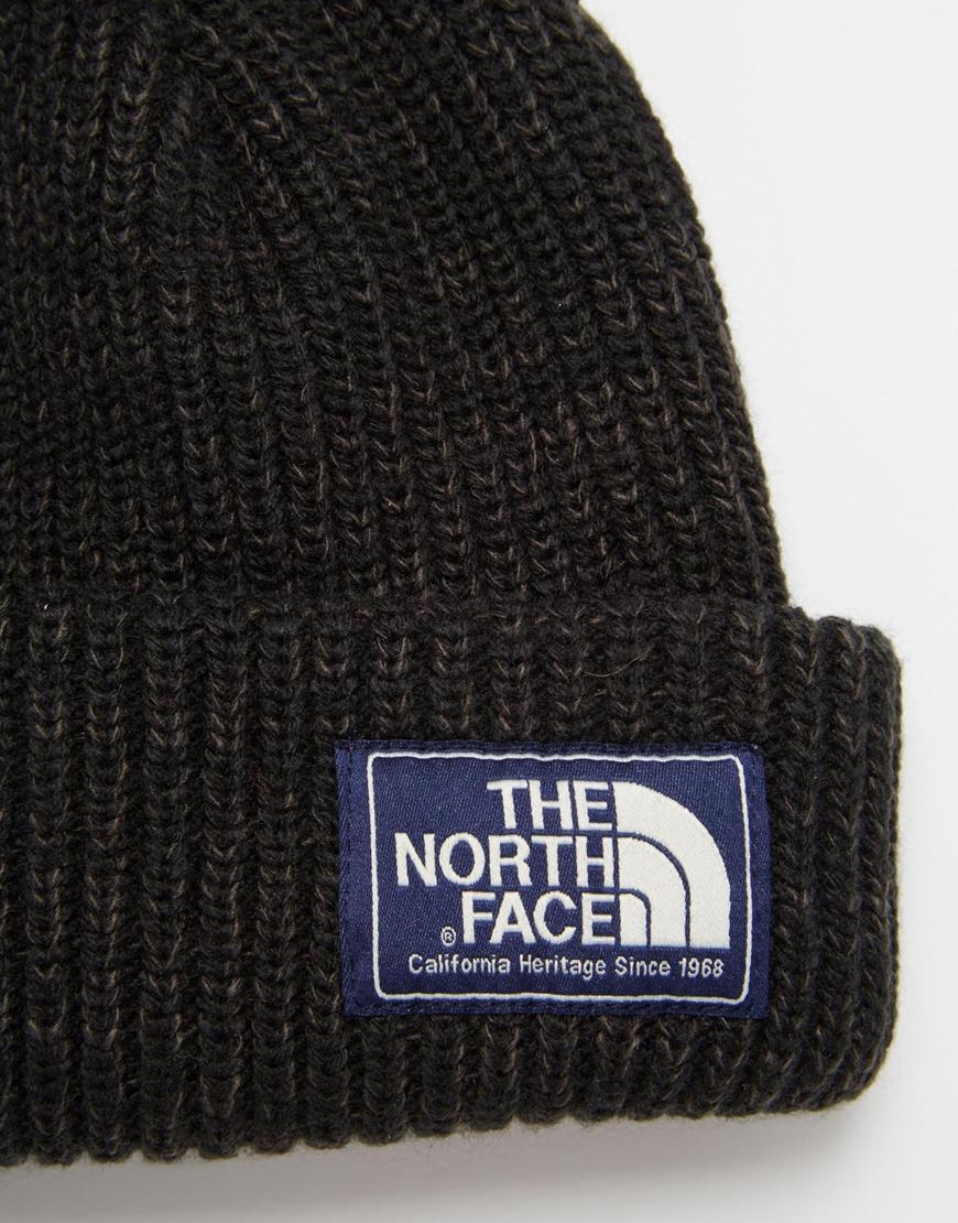 9f2f82384 The North Face Black Salty Dog Beanie Hat for men