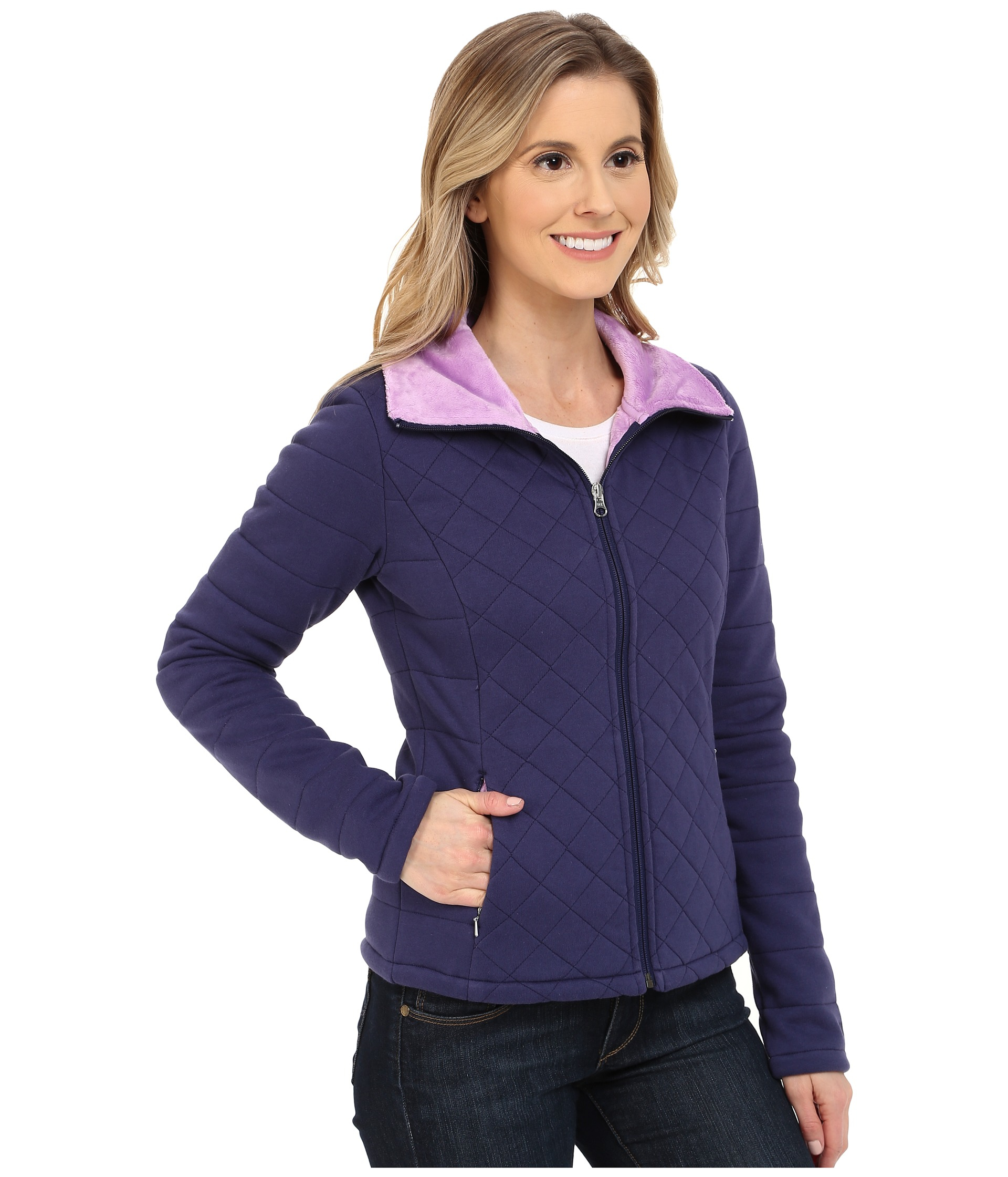 845878d44 Women's Blue Caroluna Crop Jacket