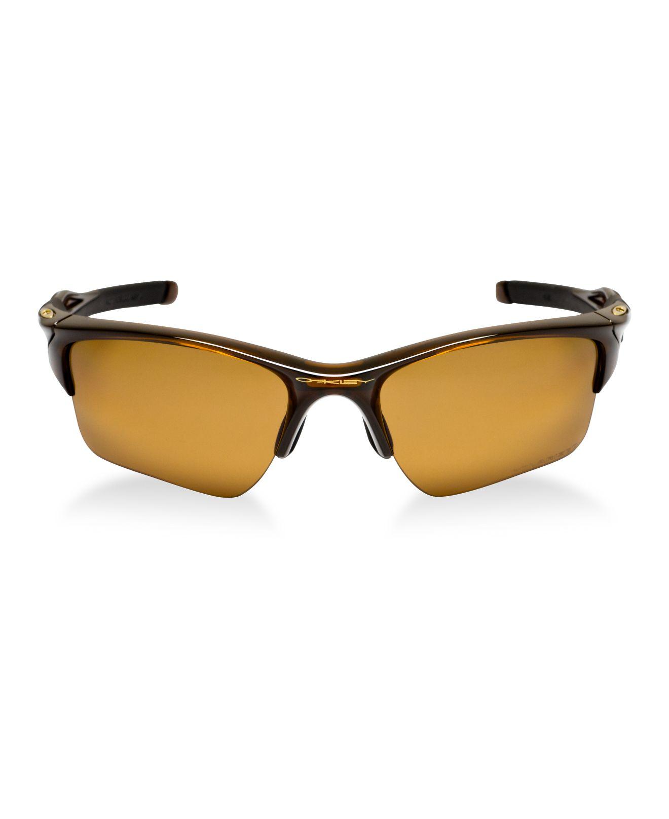 b4df357abc Lyst - Oakley Oo9154 Half Jacket 2.0 Xl in Brown for Men