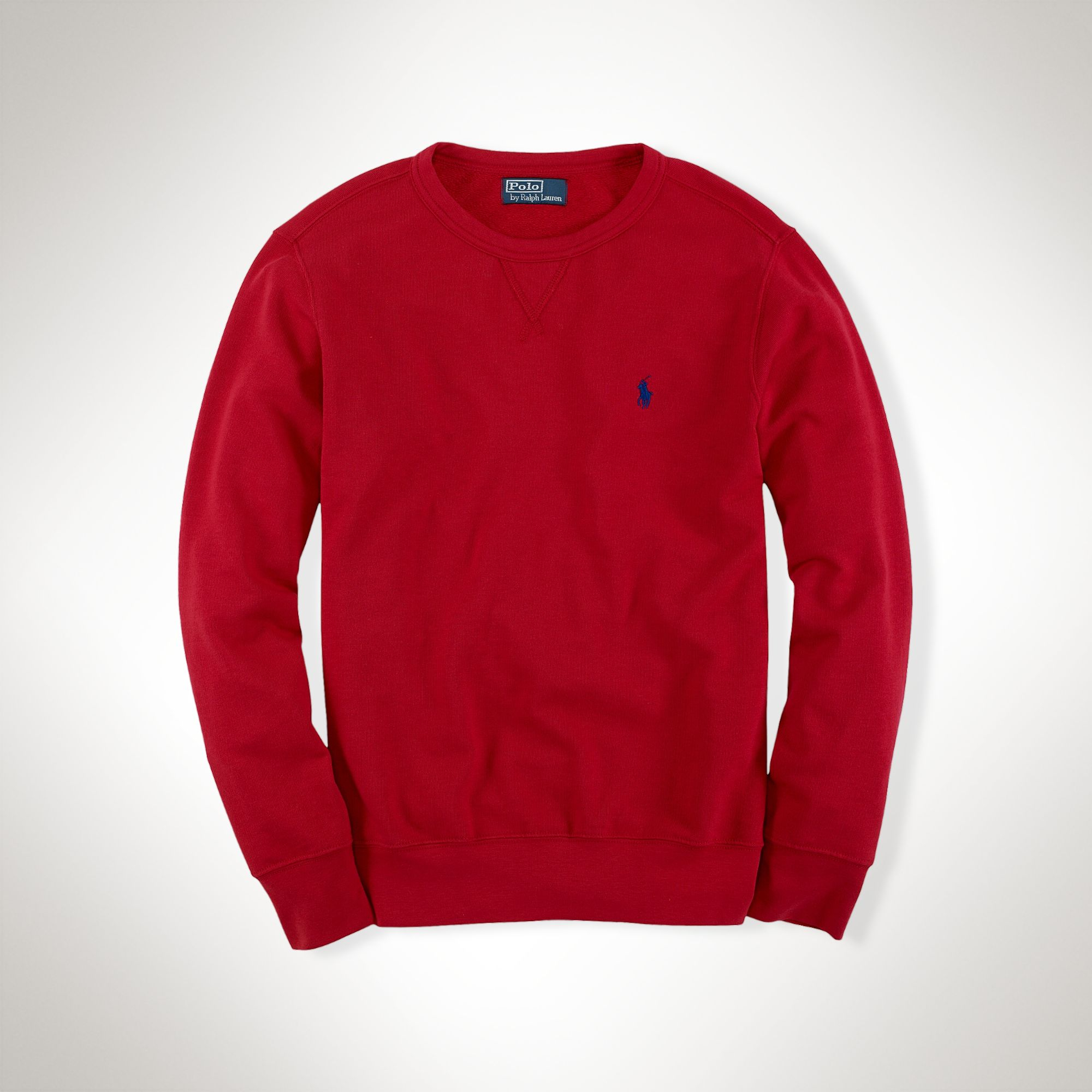 Red Wholesale Lauren Ralph Hoodie 7312d Rugby 3b9e9 Pullover XPkuZOi
