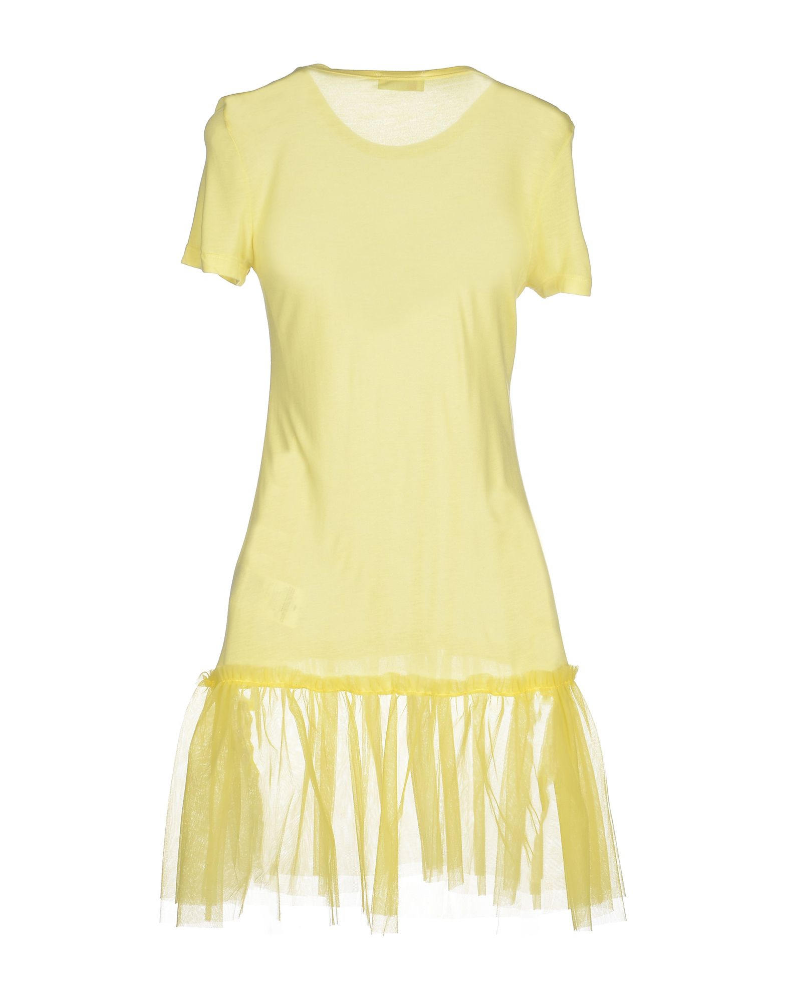 Red valentino t shirt in yellow save 50 lyst for Red valentino t shirt
