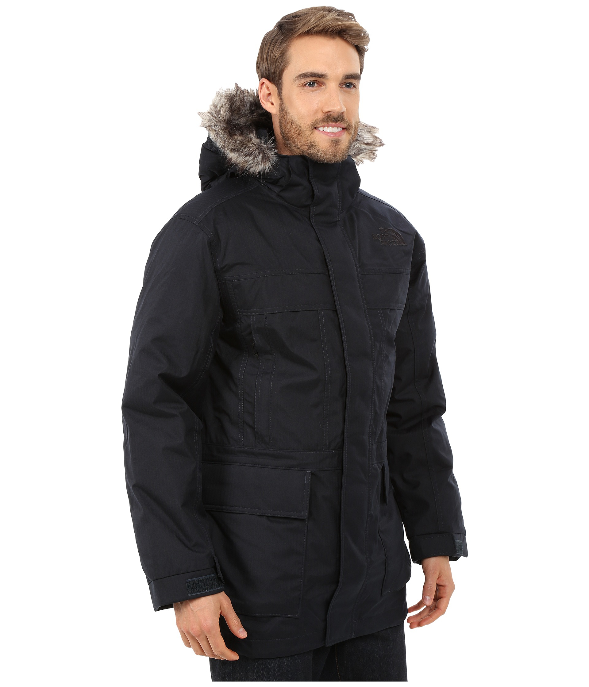 fff683696cfe ... Lyst - The North Face Mcmurdo Parka Ii in Blue for Men UPC ...