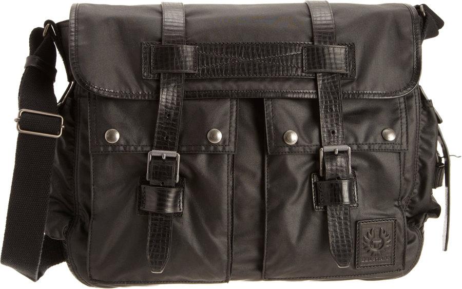 547d1e1daf Belstaff Bromfield Shoulder Bag in Black for Men - Lyst
