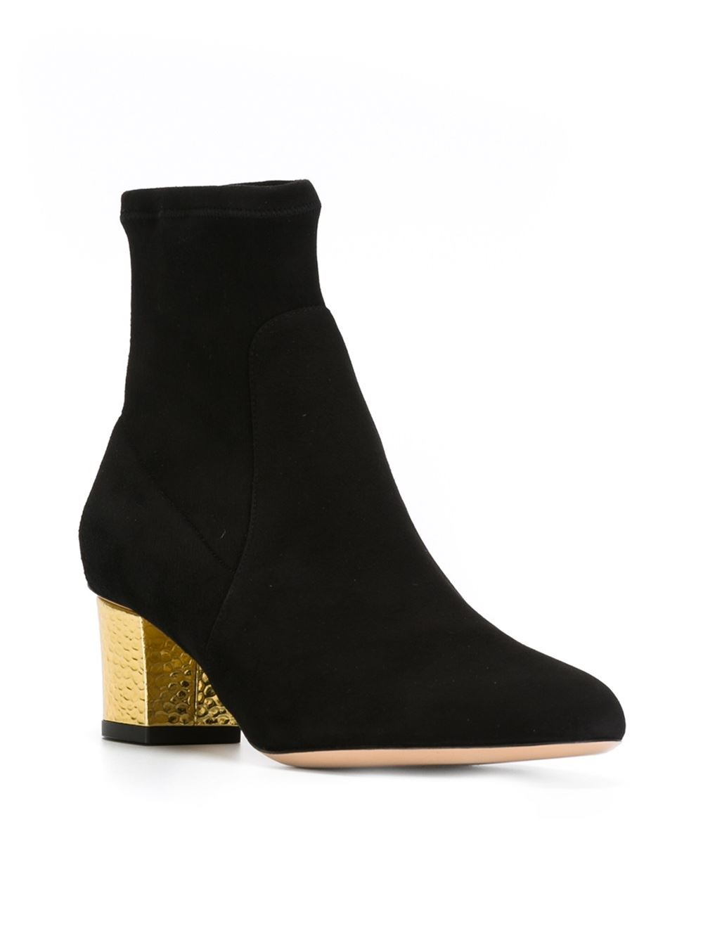 charlotte olympia 39 winnie 39 ankle boots in black lyst. Black Bedroom Furniture Sets. Home Design Ideas