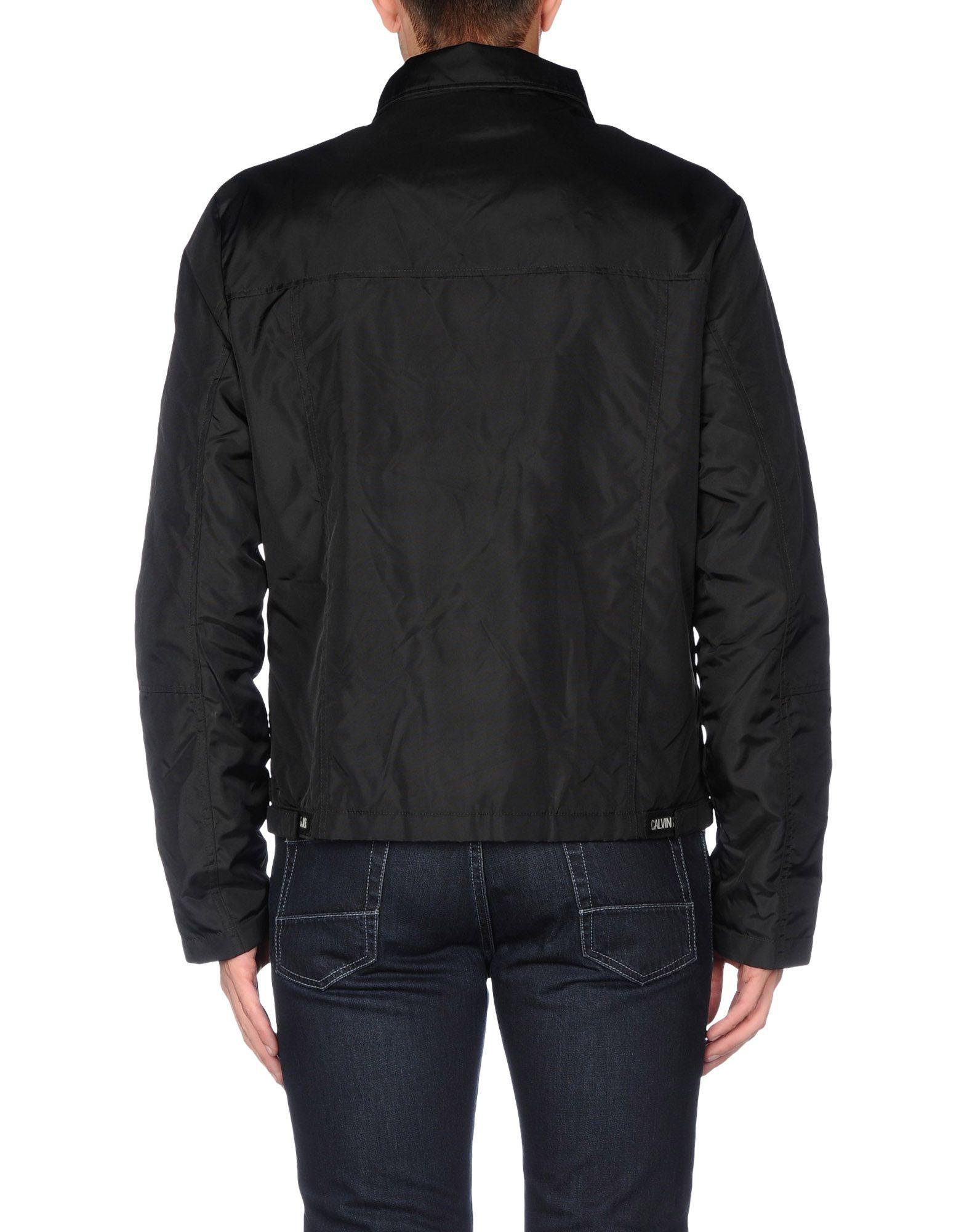Calvin klein jeans Jacket in Black for Men | Lyst