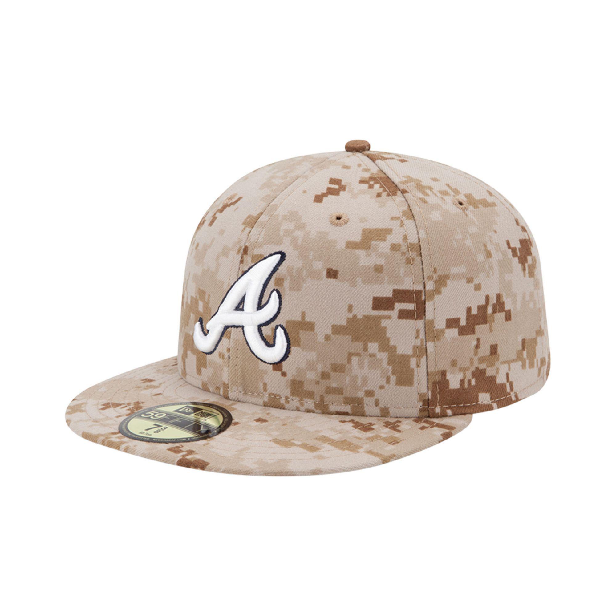 Lyst - KTZ Atlanta Braves Mlb Memorial Day Stars Stripes 59fifty Cap ... ba7ca6b30253