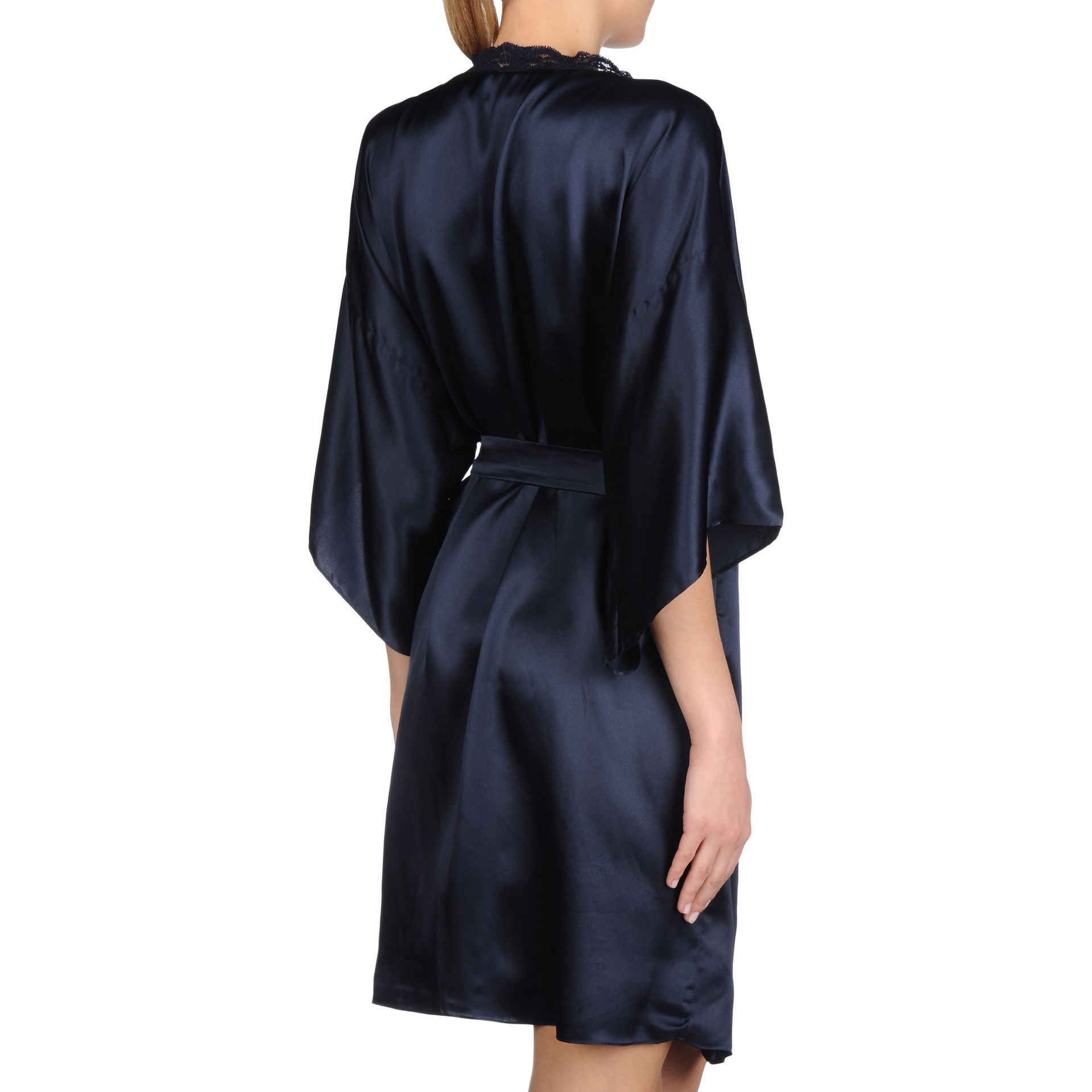 lyst stella mccartney clara whispering robe in blue. Black Bedroom Furniture Sets. Home Design Ideas