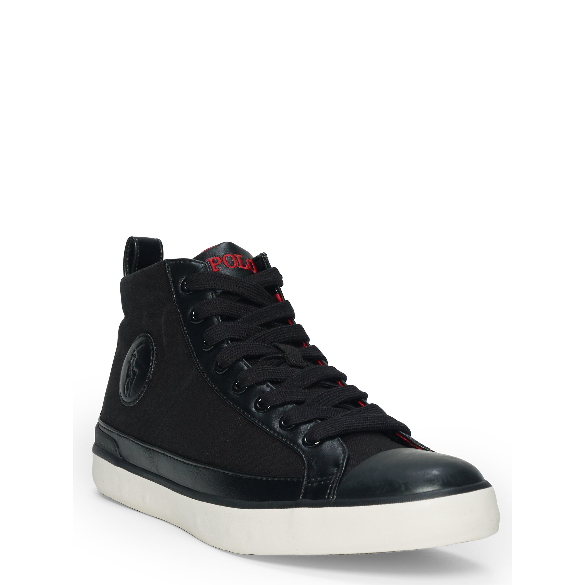 Polo Ralph Lauren Shoes Sale Canvas High Top Sneakers