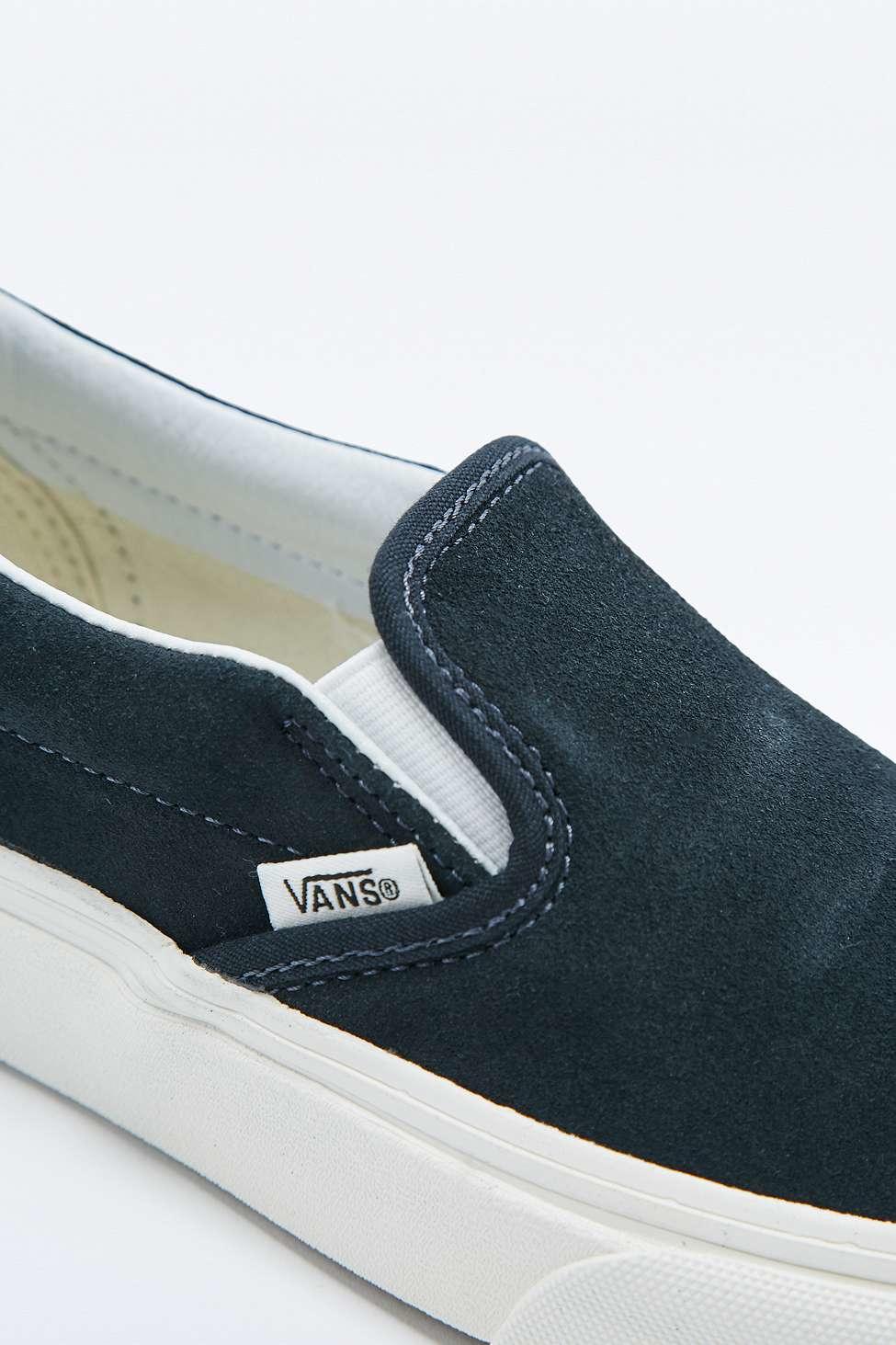 Vans Slip-on Classic Navy Suede