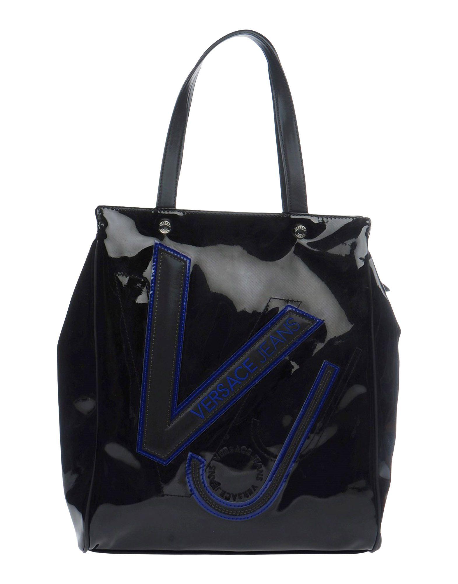 f71571d3e4 Black Handbag: Black Versace Handbag