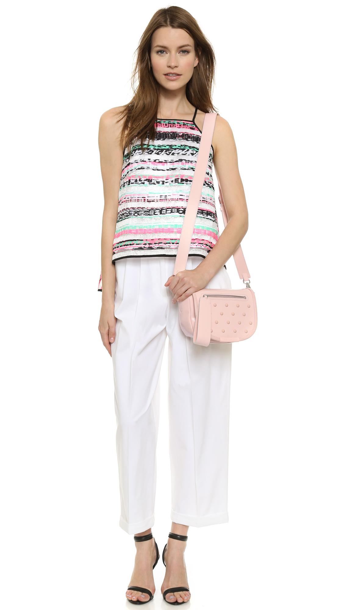 Marc By Marc Jacobs Runway Luna Studs Cross Body Bag - New Cloud in Pink