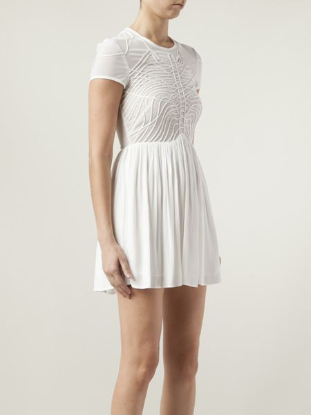 Blessed Are The Meek Terrace Dress In White Lyst