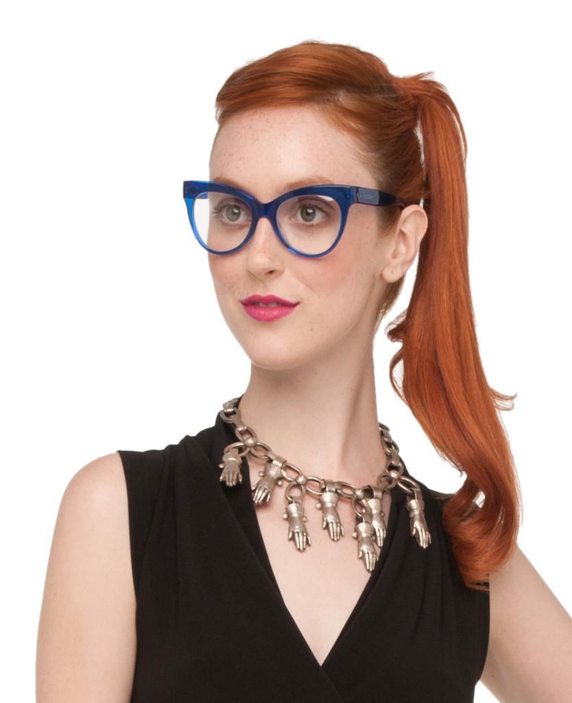 Norma Kamali Cat Eye Glasses