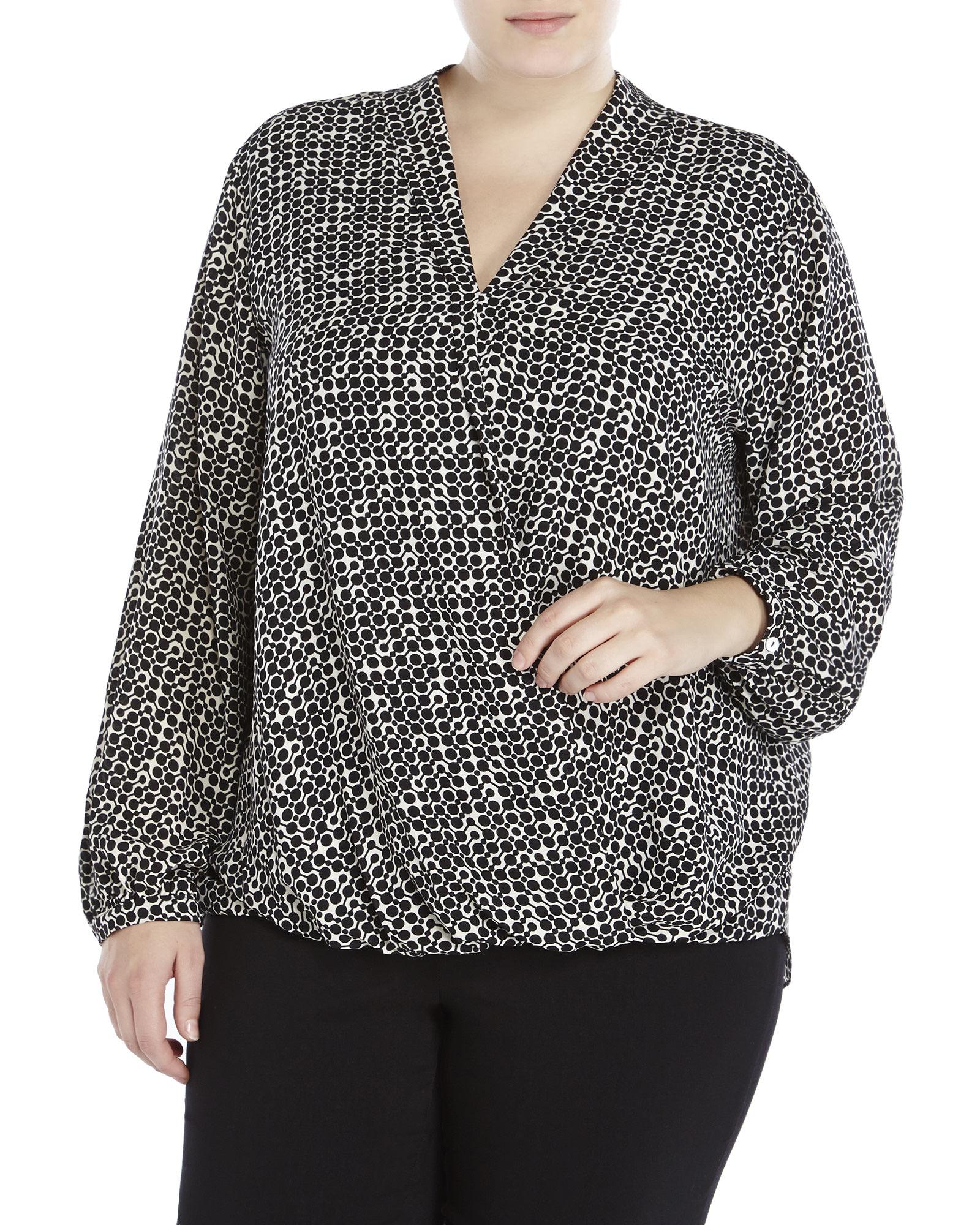 Chelsea Studio - Scoop neck tee - Women's Plus Size Clothing,