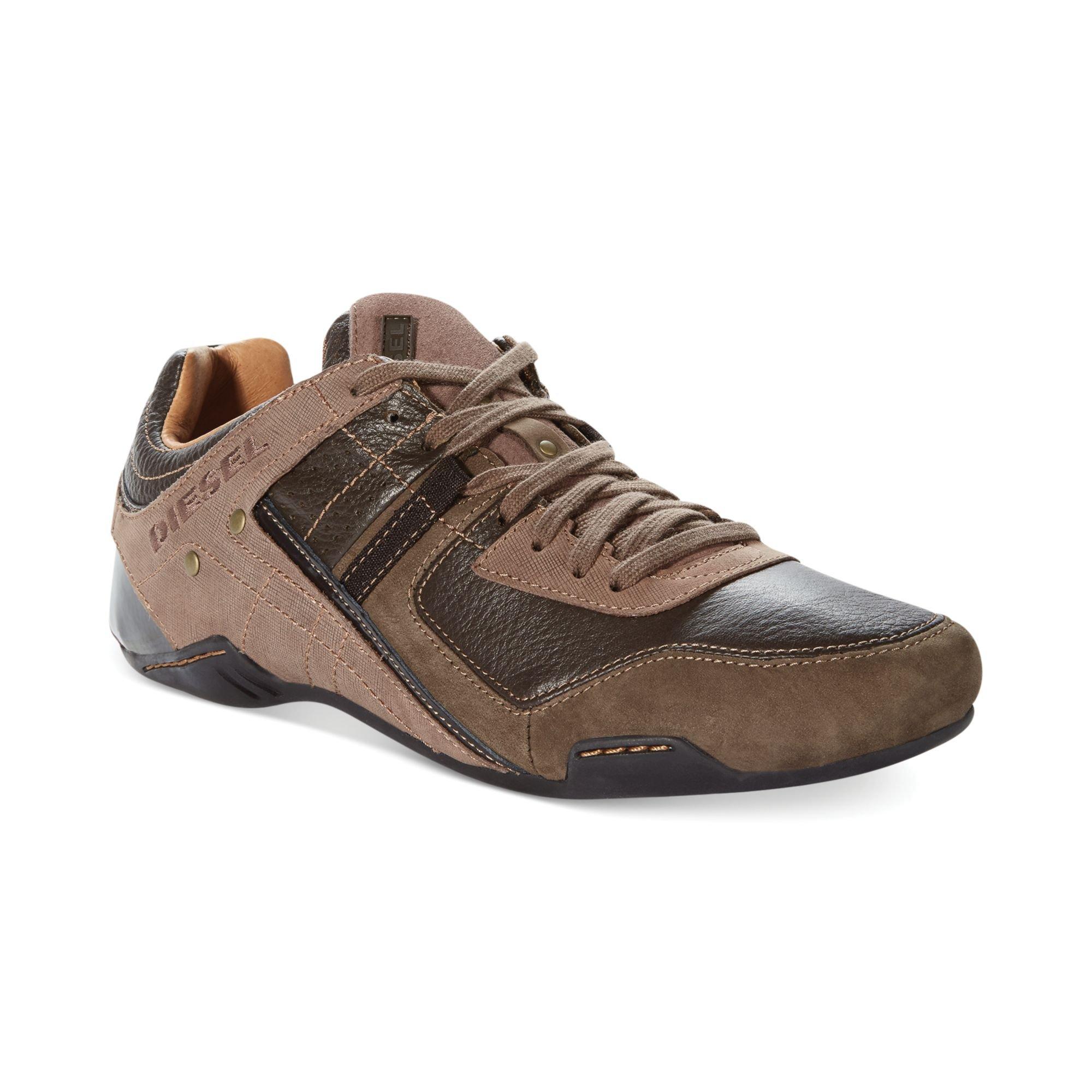 Diesel Korbin Sneakers in Brown for Men (Dark Brown) | Lyst
