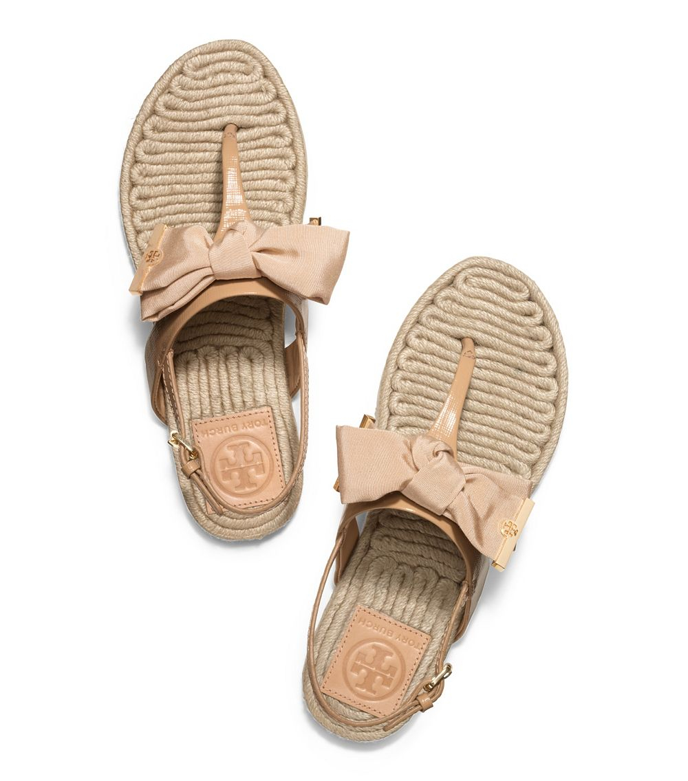 Tory Burch Delaney Embellished Flat Sandal kvUQk399h
