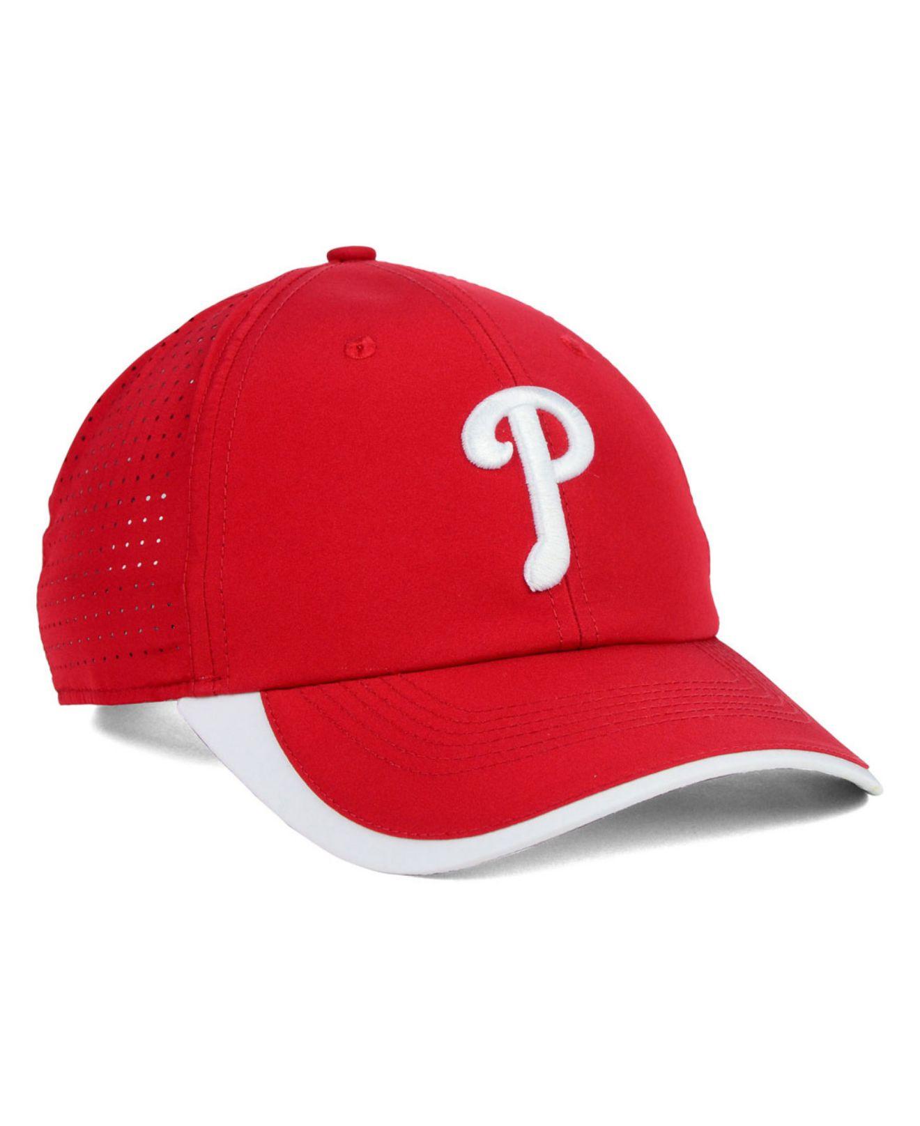 san francisco 41d83 7cd87 Lyst - Nike Philadelphia Phillies Featherlite Cap in Red for Men