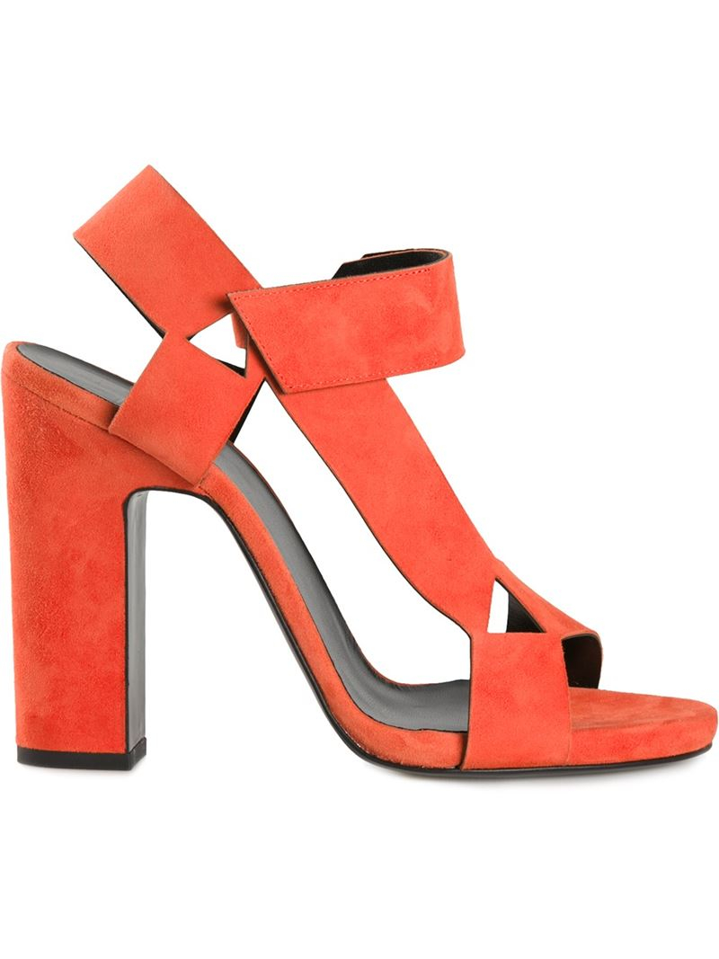 Pierre hardy 'ultimate' Sandals in Red