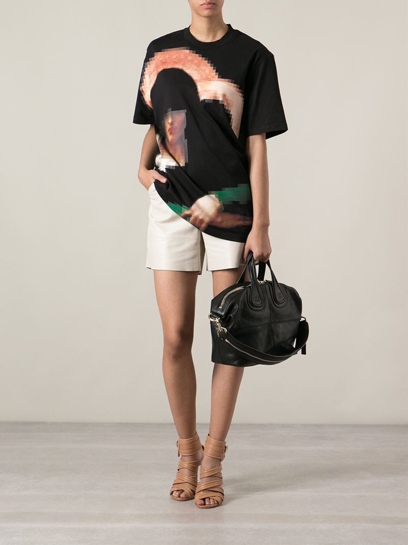 85047cb5c8 Givenchy - Black Small  Nightingale  Tote - Lyst