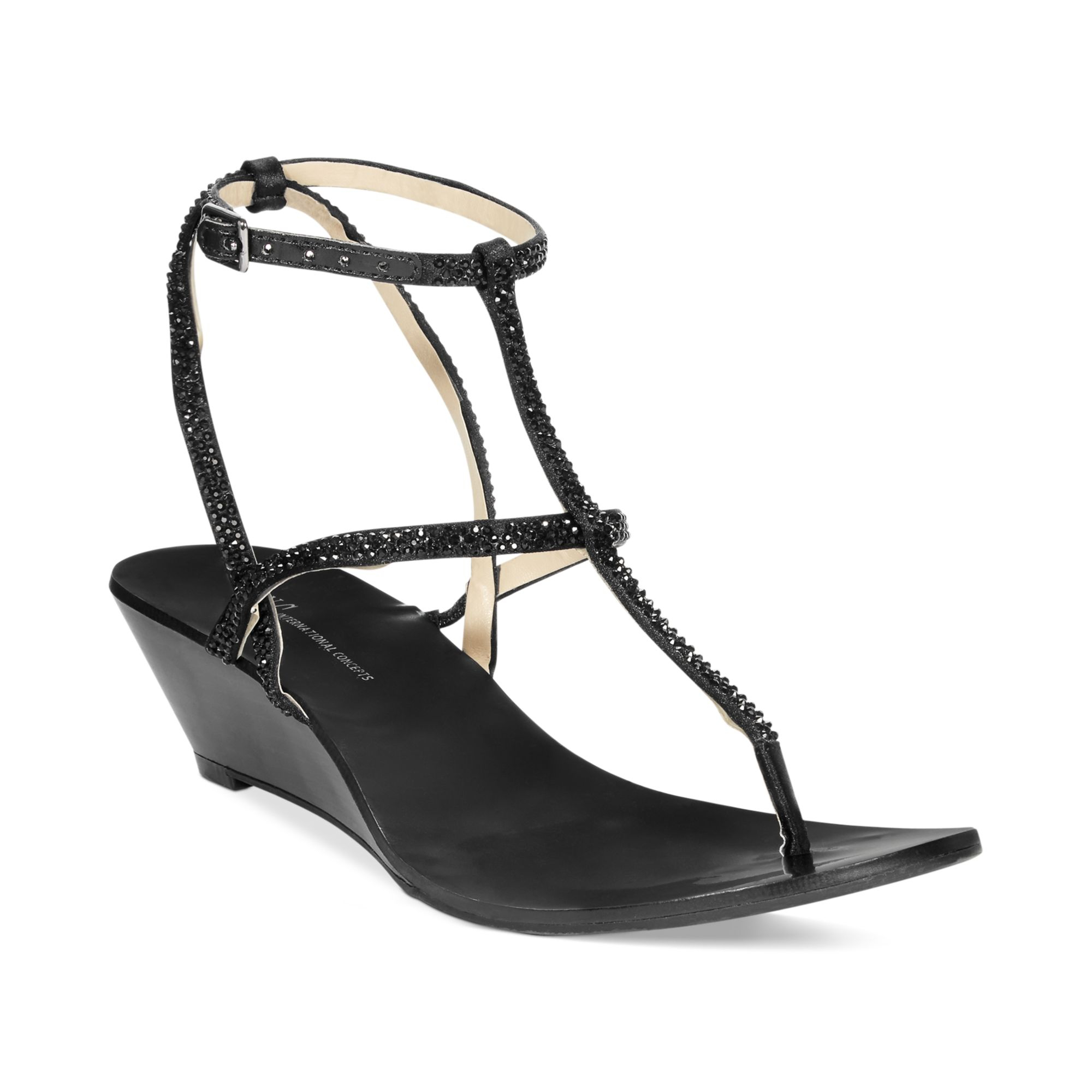 Inc International Concepts Womens Marge Wedge Thong